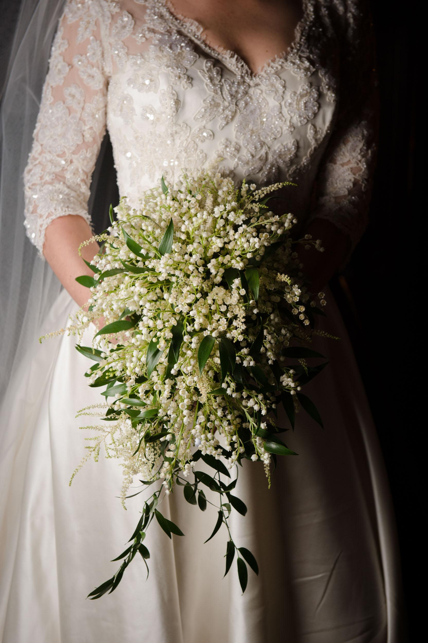 Bridal bouquet for Chicago Athletic Association wedding