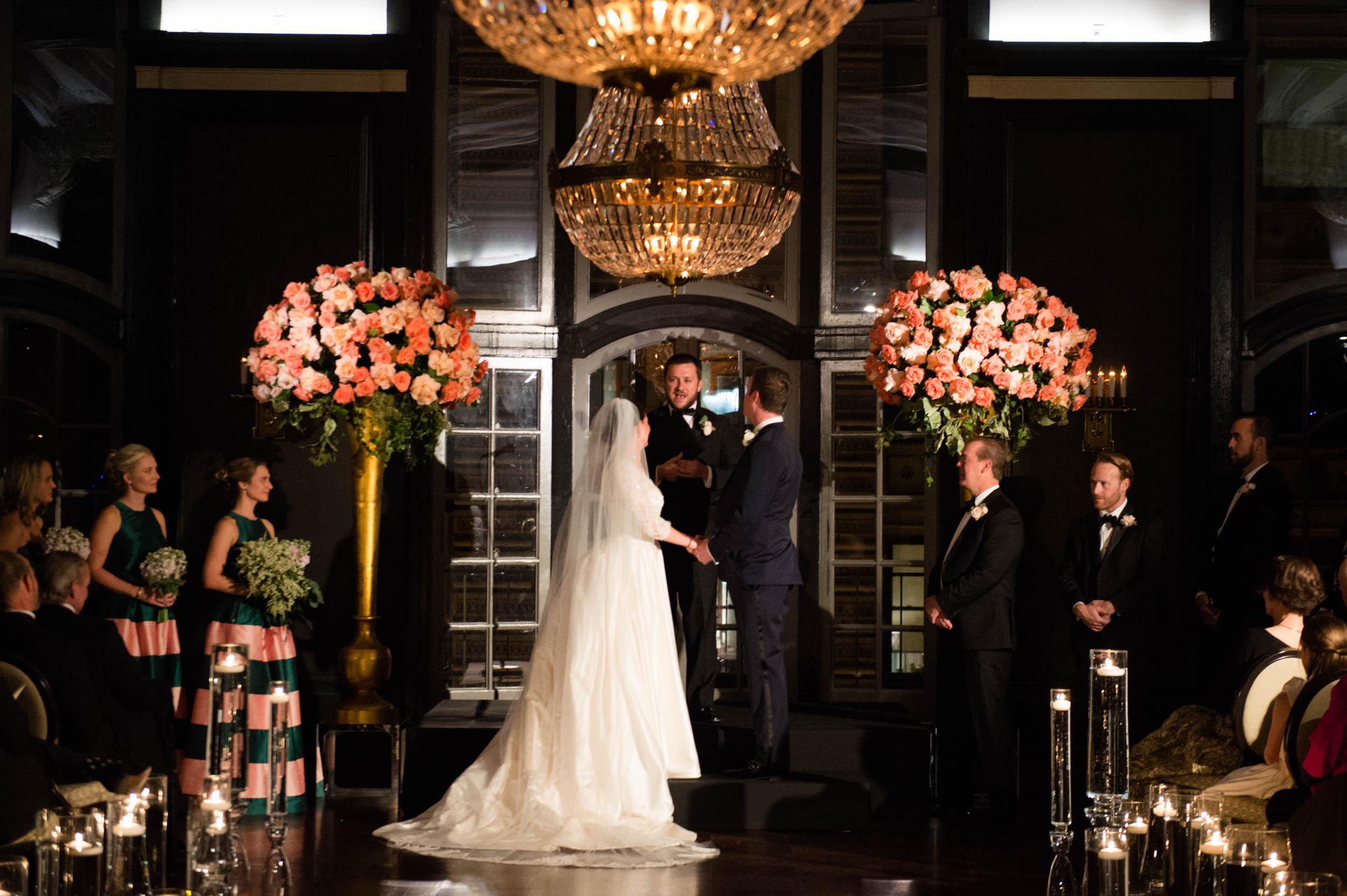 Wedding ceremony at Chicago Athletic Association Hotel