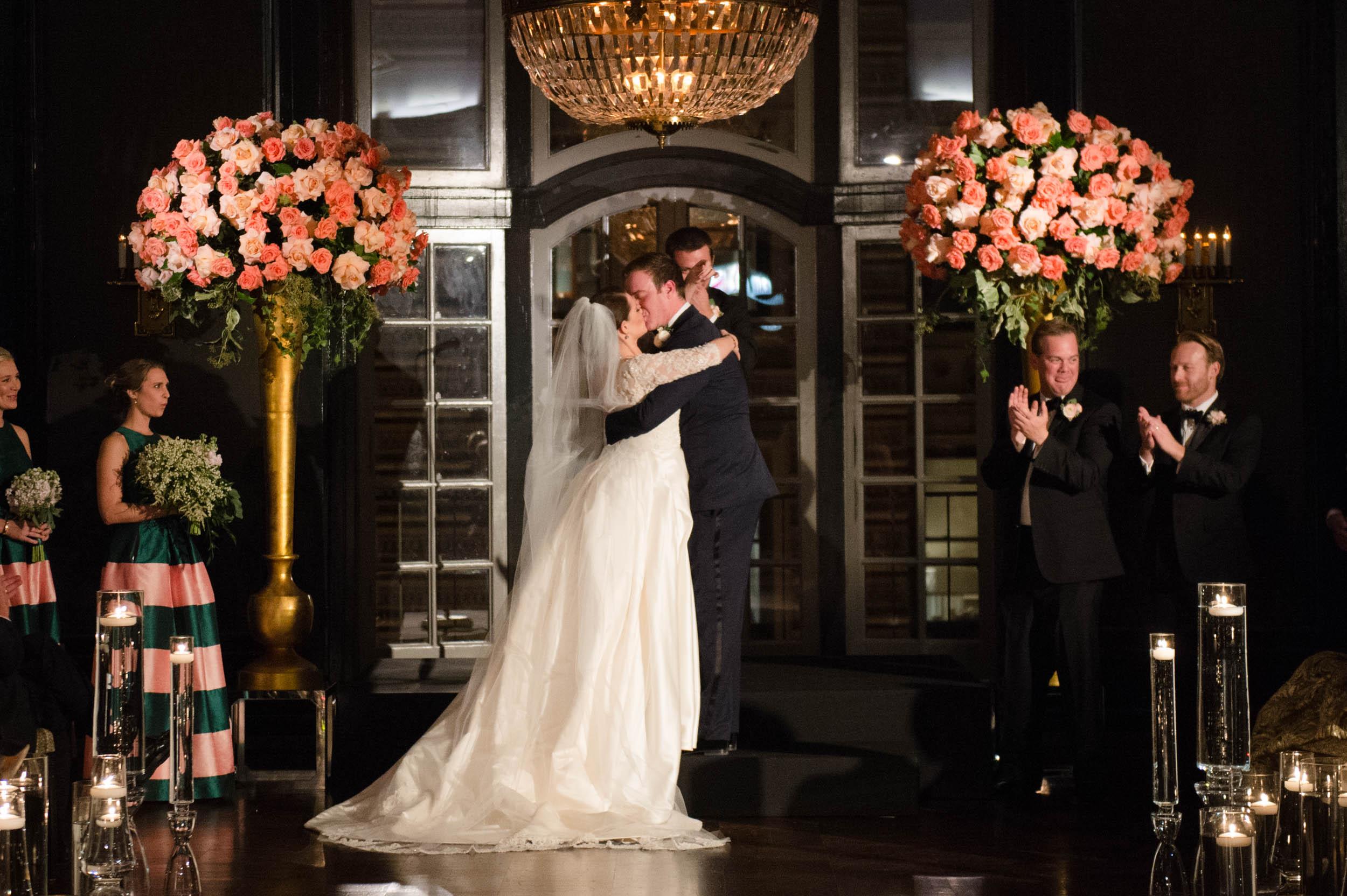 Madison Ballroom wedding ceremony at Chicago Athletic Association
