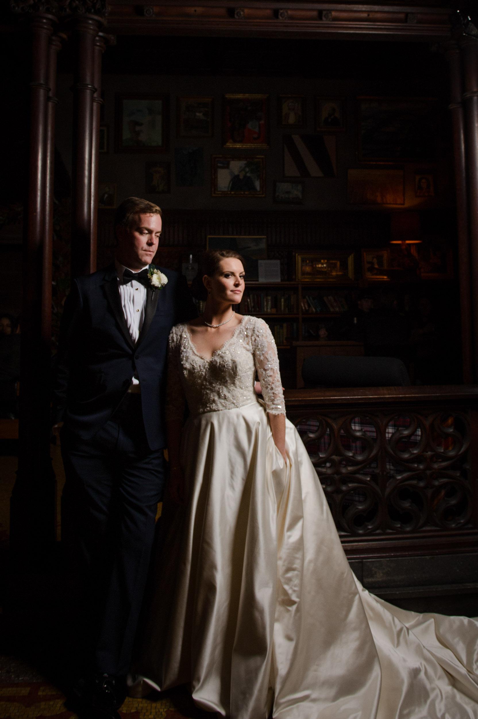 wedding at chicago athletic association