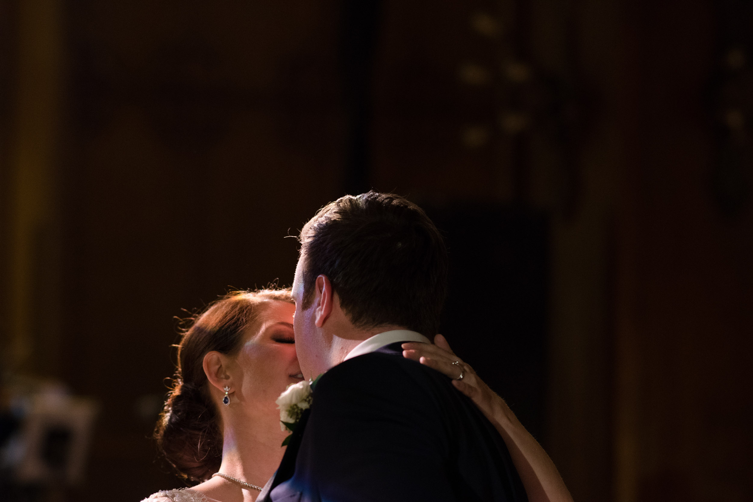 Fine art documentary wedding photography in Chicago - first dance at Chicago Athletic Association