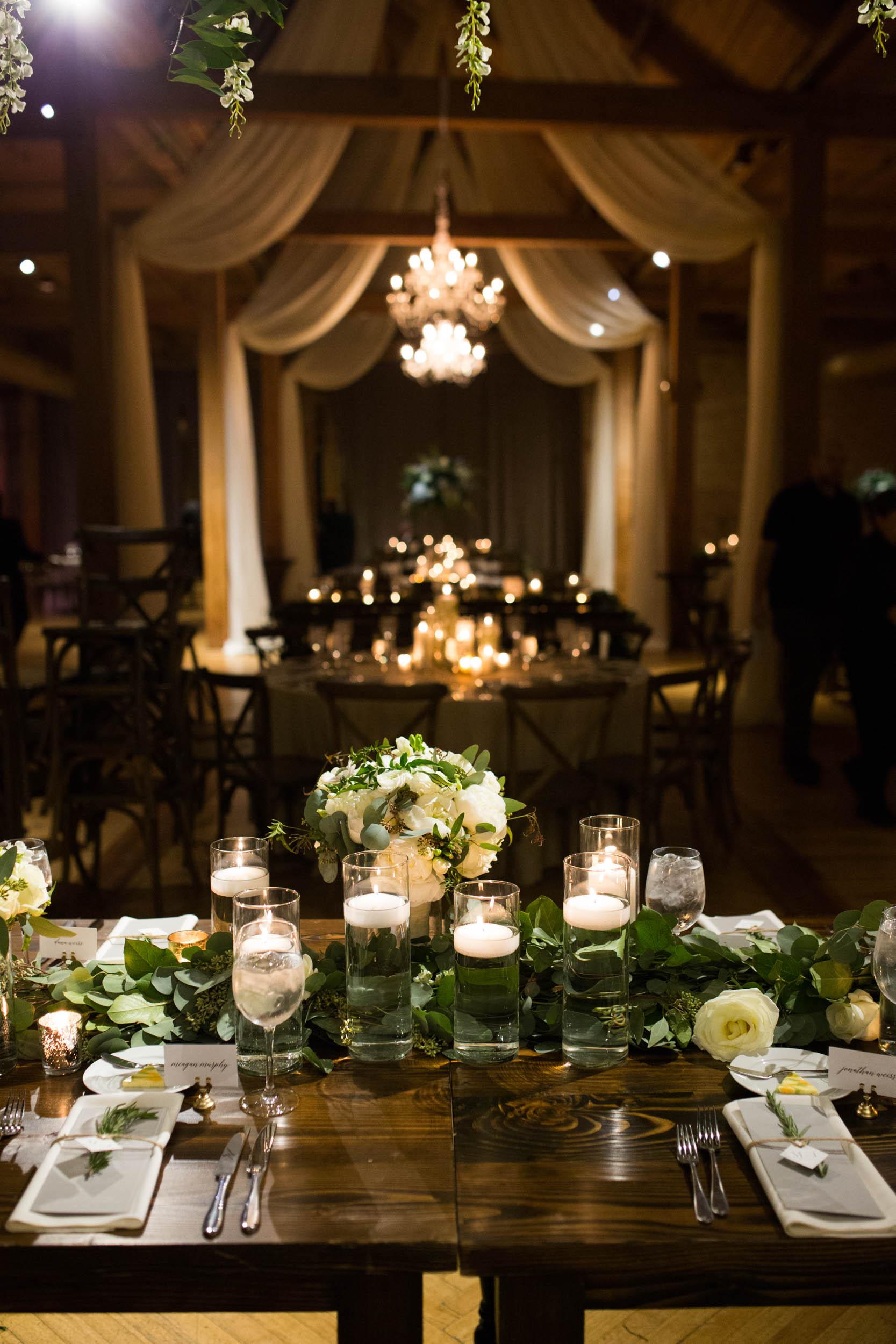 Wedding reception at Bridgeport Art Center