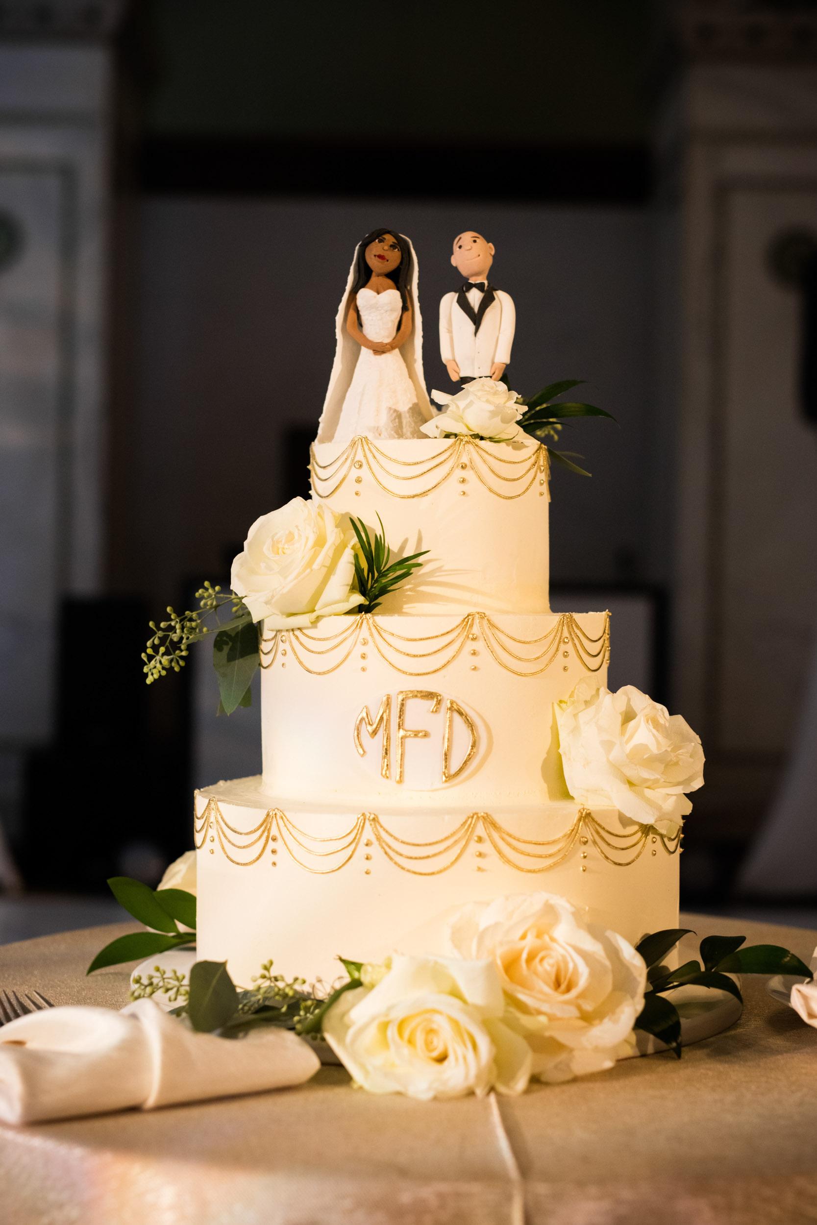 Alliance Bakery Cake for Chicago Cultural Center Wedding