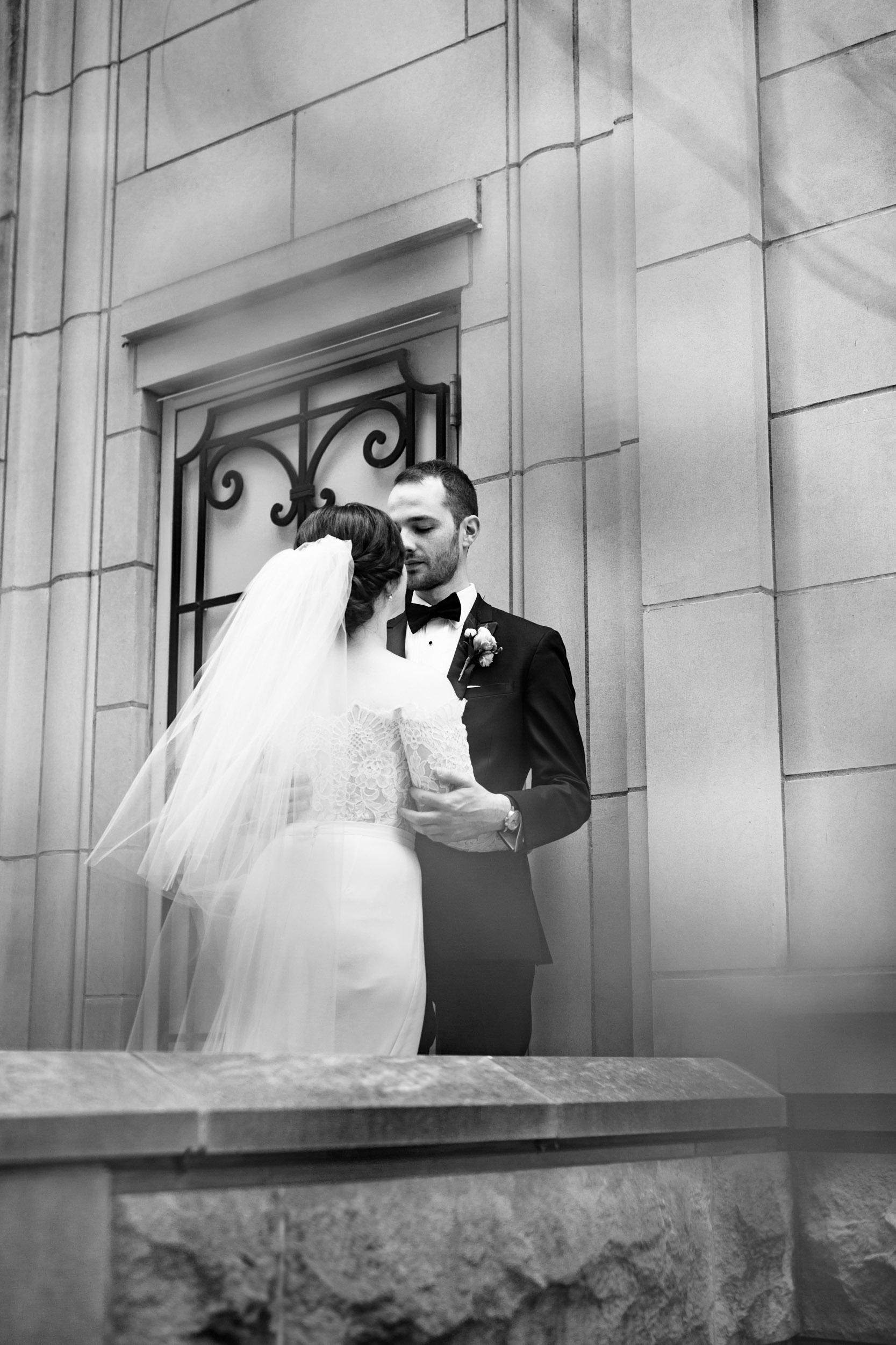 Wedding portraits in Chicago