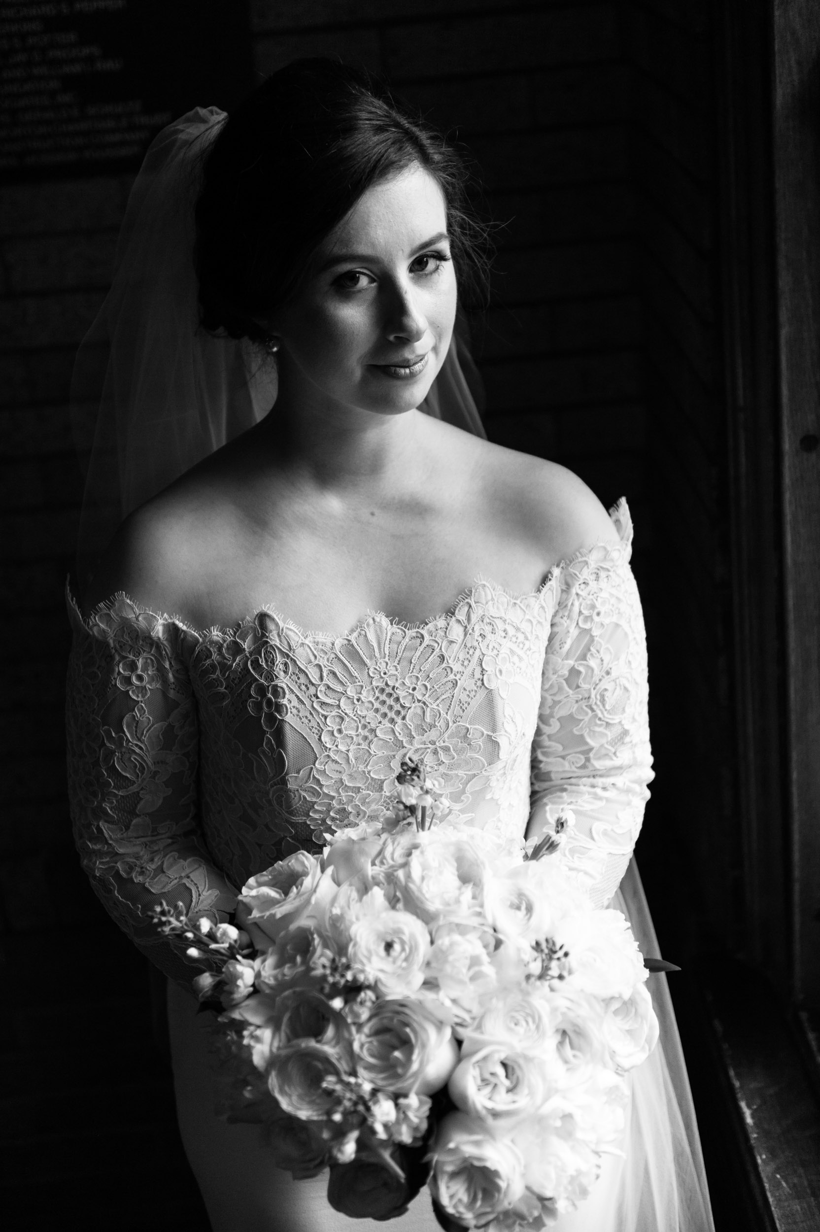 Moody bridal wedding photography Chicago
