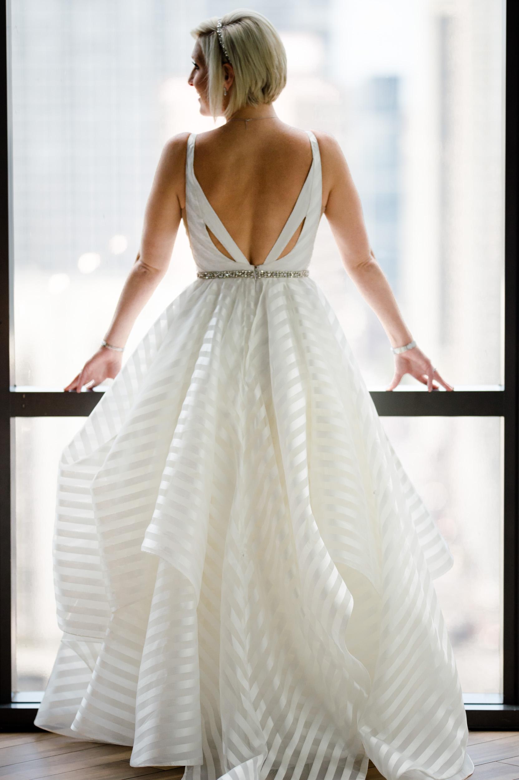 Bridal portrait at the Dana Hotel