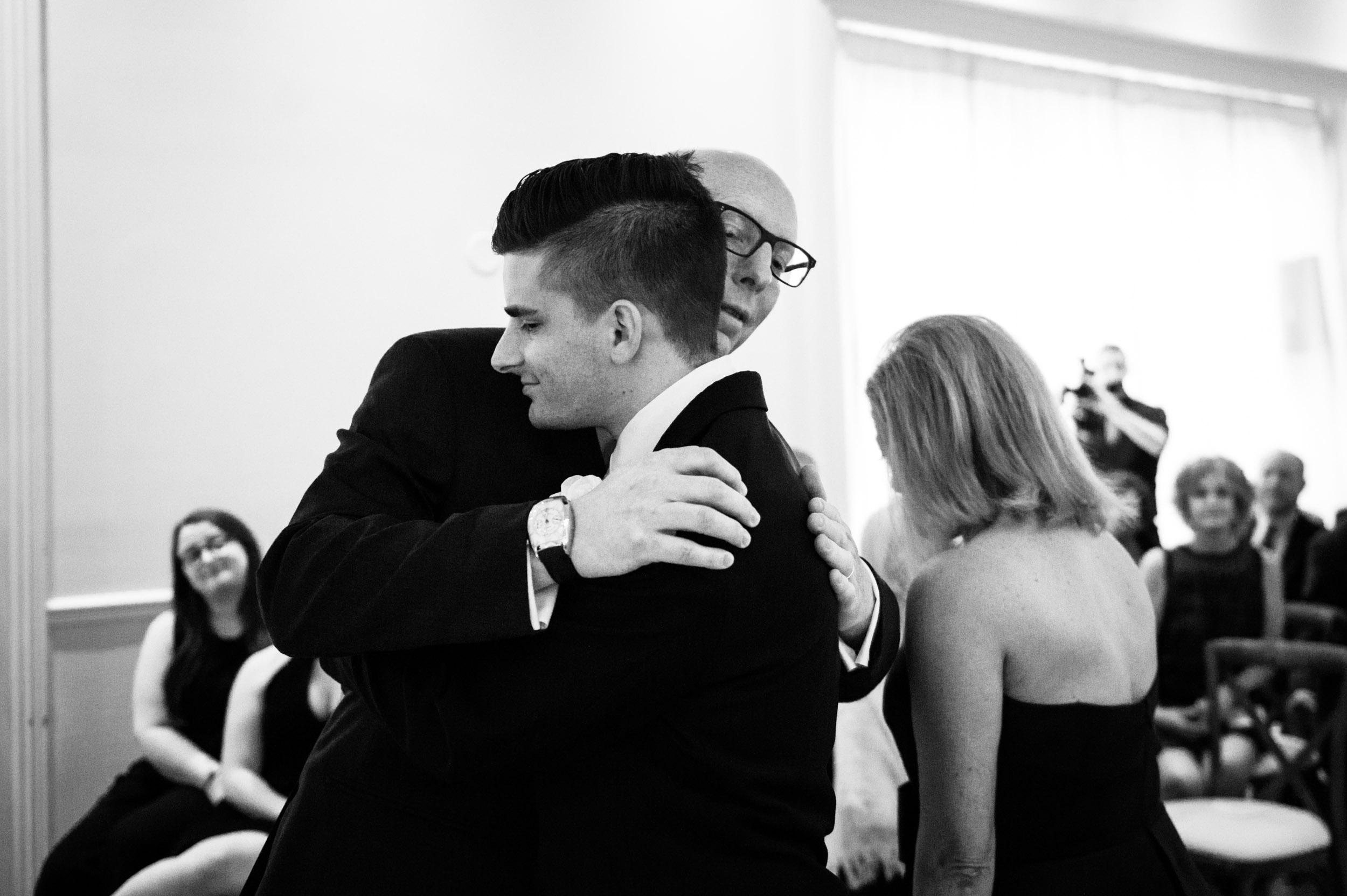 Documentary wedding photos at Chicago Illuminating Co