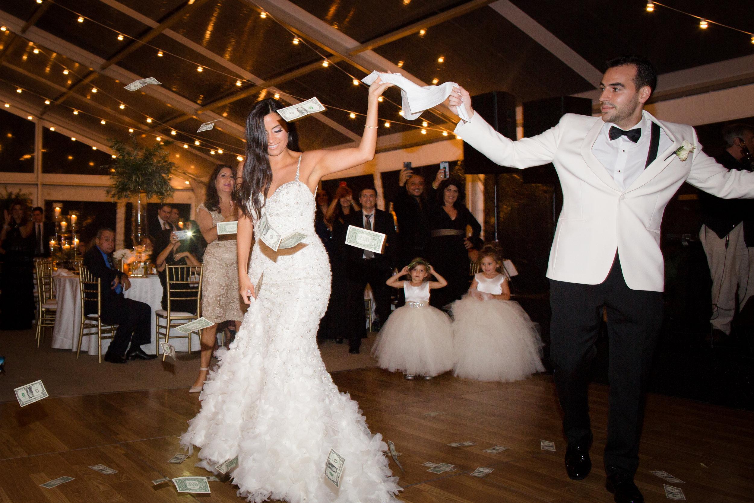 Wedding reception at Kiawah Island Golf Club River Course
