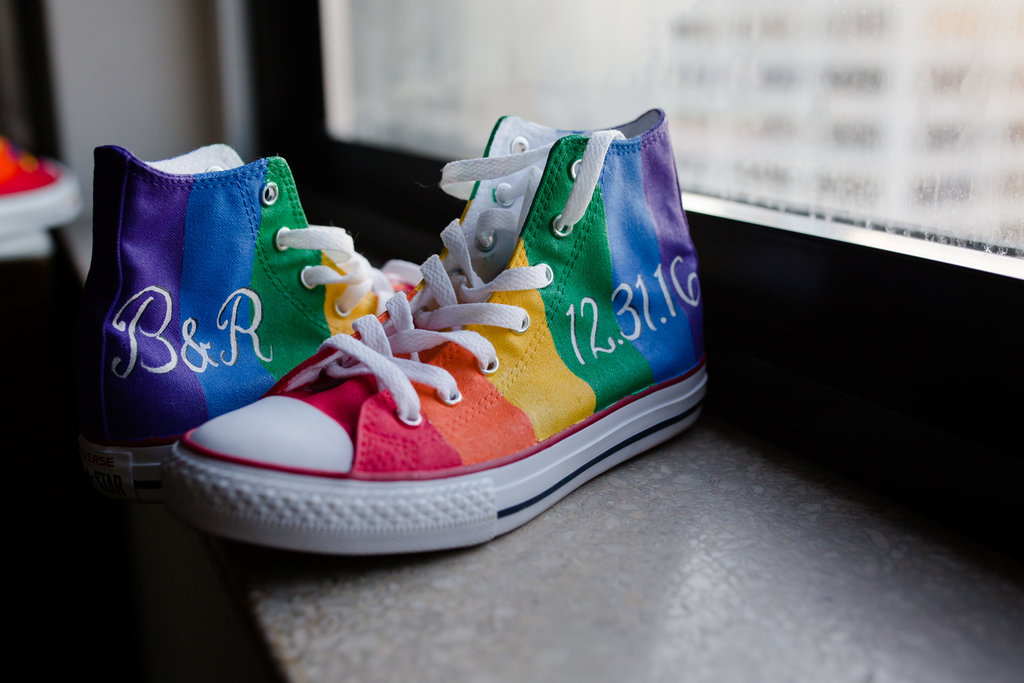Wedding Celebration Shoes, Love is love.