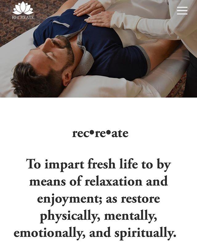#recreate #recreatecare #philadelphia #wellness #reiki #handsonhealing