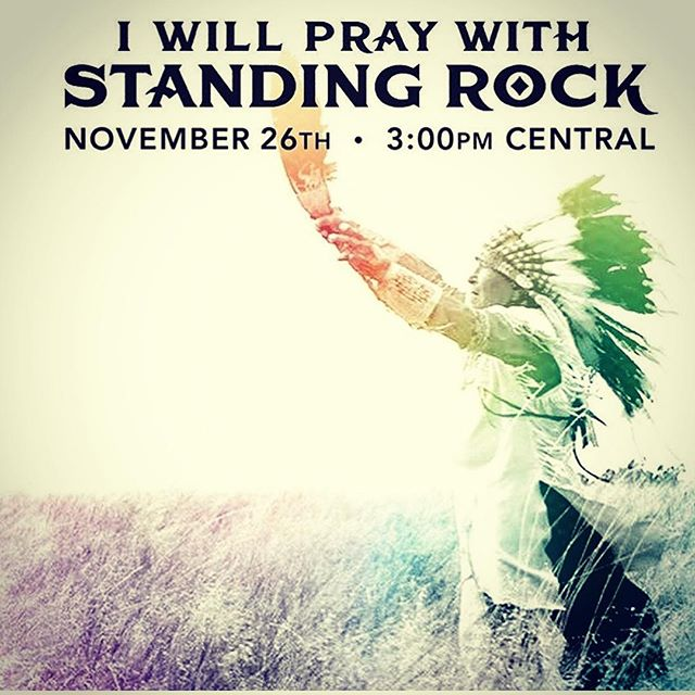 #ipraywithstandingrock #standwithstandingrock #nodapl #waterislife  i will be sending #prayer and #distancereiki with friends this Saturday November 26th 3pm central/4pm eastern please join if you feel called to 🙏💕🌎