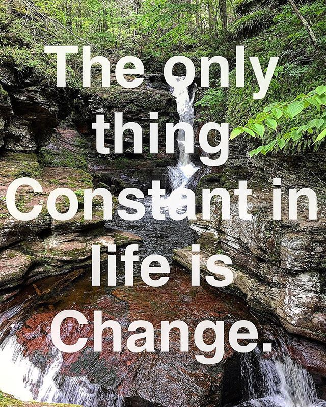 i heard a friend say this the other day and I love it! Thanks @louisalloro for being a constant reminder of #change #changeagent #rickettsglen #pa #gratitude #love #positivepsychology