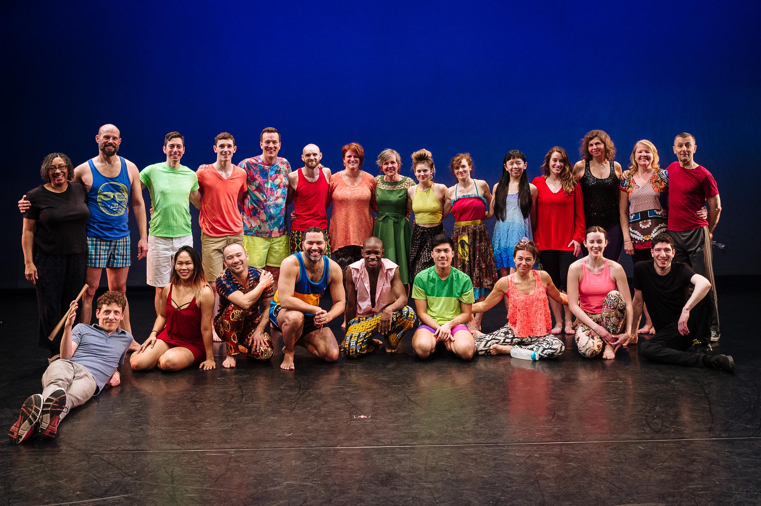 Group shot. Tour de Danse 2016. Photo by Edwin Luk