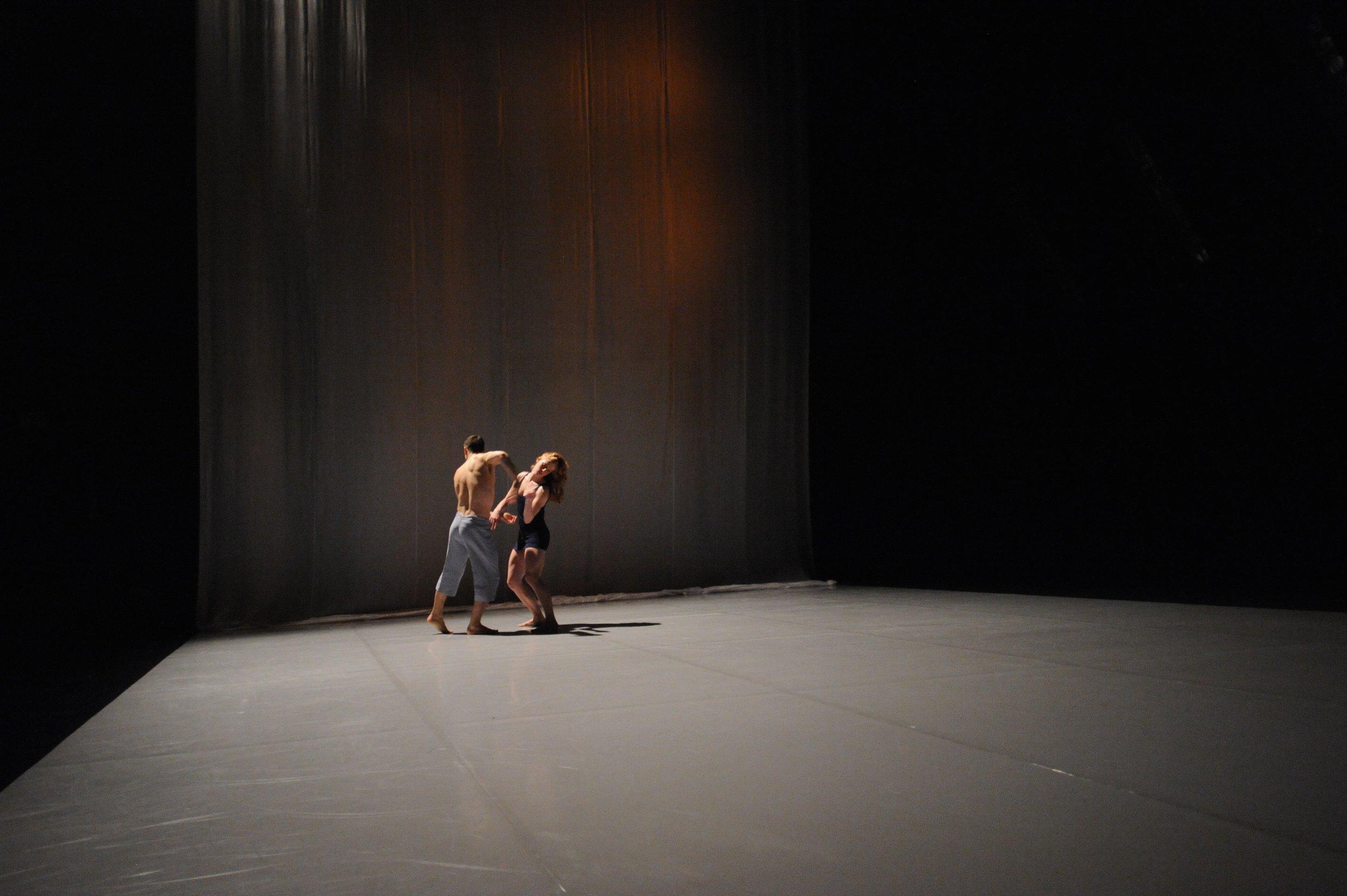 Brodie Stevenson and Sarah Wasik in Rivers. Photo by Guntar Kravis.JPG