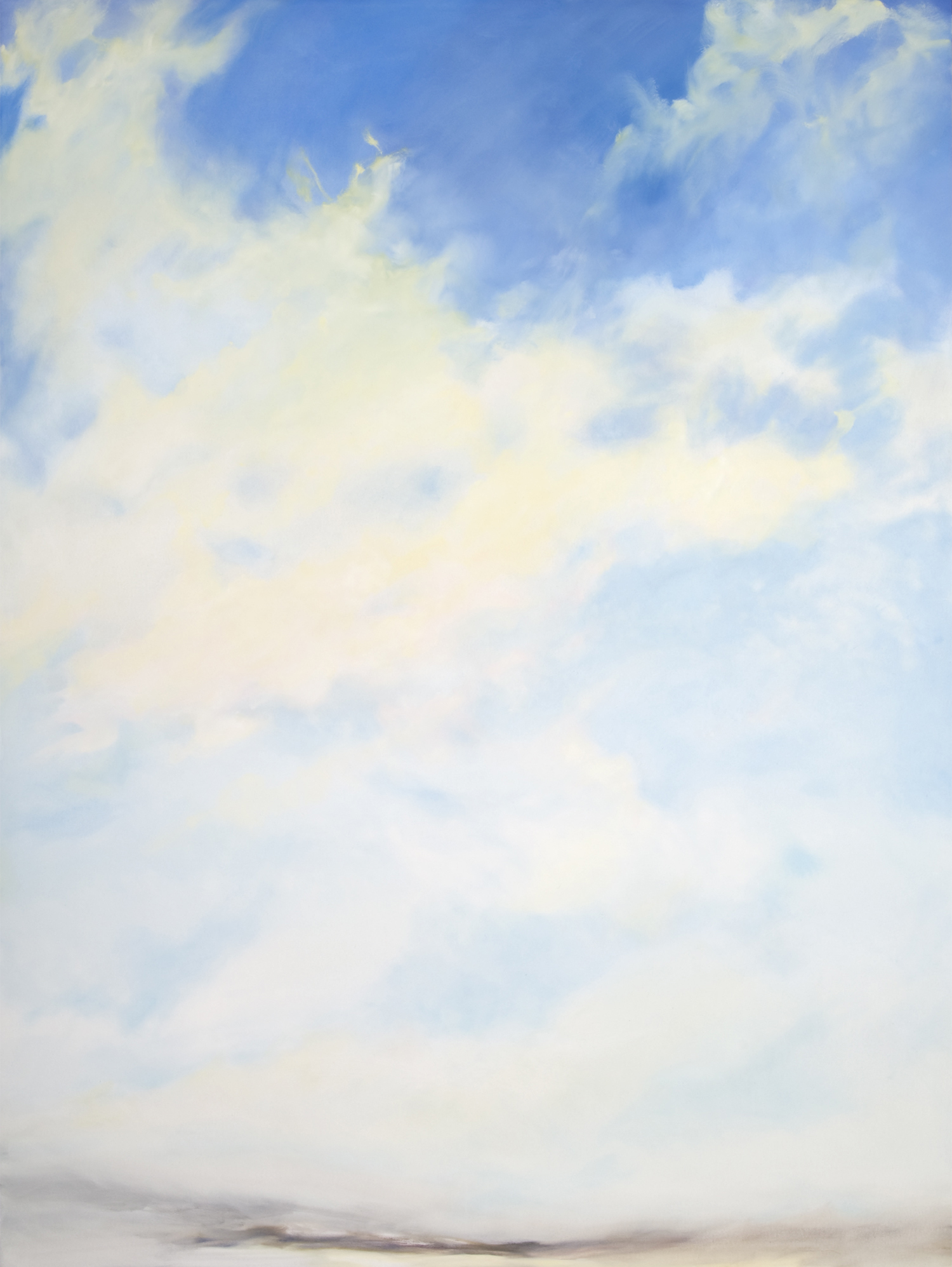 Winter Sky l , 2010, Oil on Canvas, 96 x 72 inches (UNB Permanent Collection, Fredericton, NB)