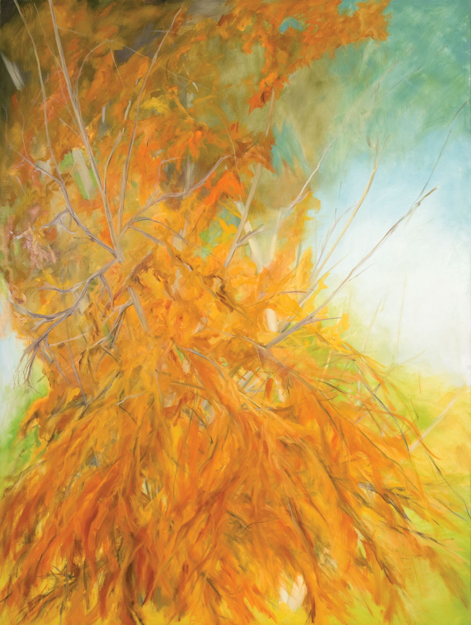 Bramosia , 2009, Oil on canvas 96 x 72 inches (Private Collection-Fredericton, NB)