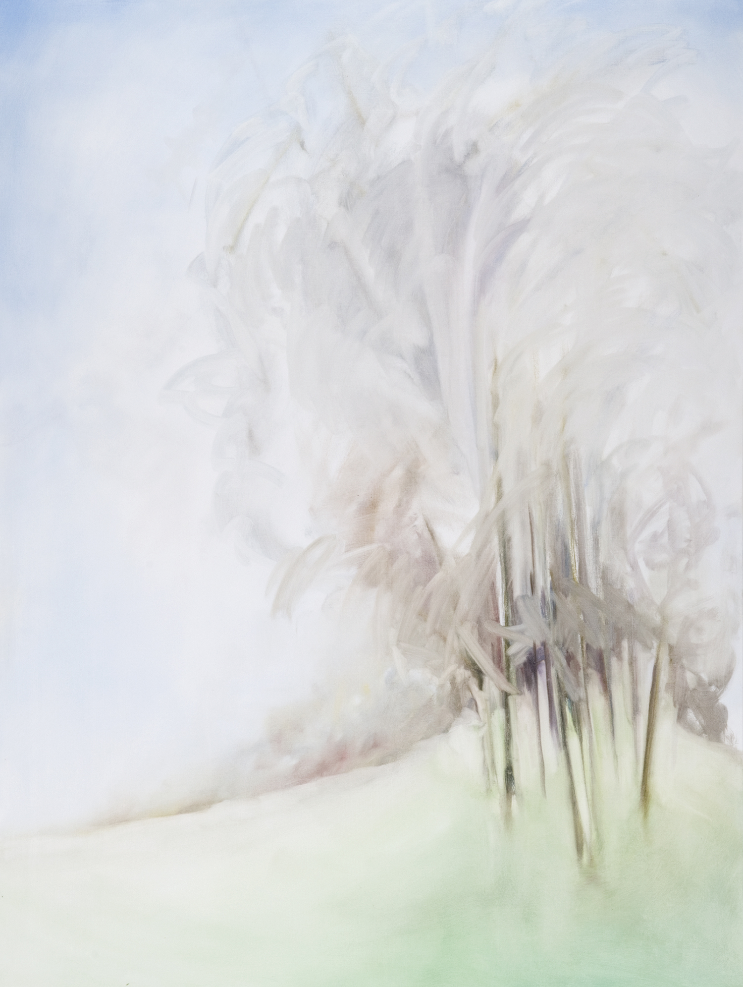 Coming on Summer I , 2009, Oil on Canvas, 72 x 54 inches (Corporate Collection)