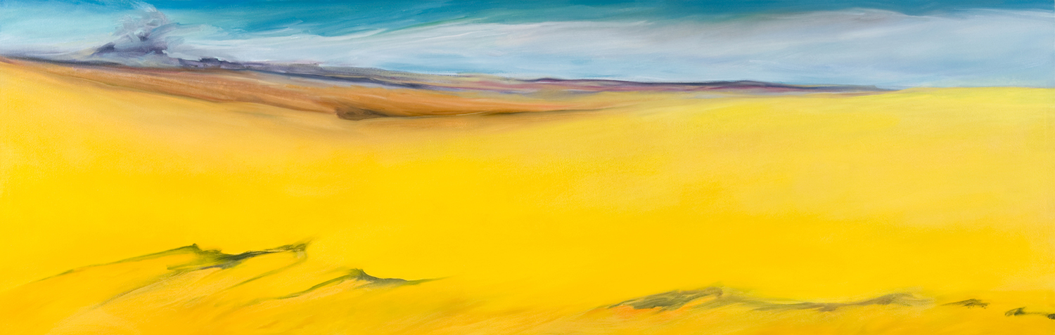 Late Summer , 2009, 27 x 84 inches (Private Collection)