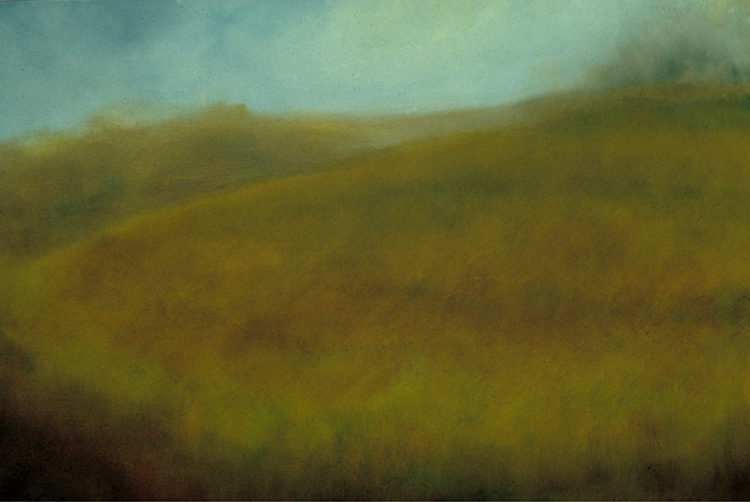 State College , 1985, Oil on Canvas, 36 x 48 inches (Private Collection, Raleigh, NC)