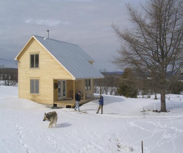 2010, the January I made Winter Sky 1