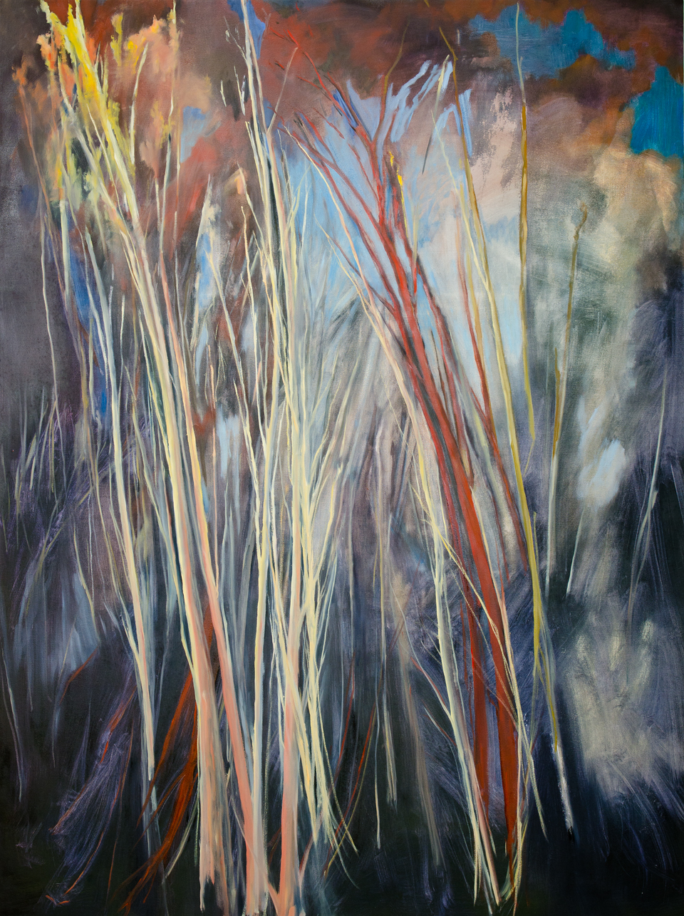 Scuro , 2011, Oil on canvas, 96 x 72 inches (Private Collection, Fredericton, NB)