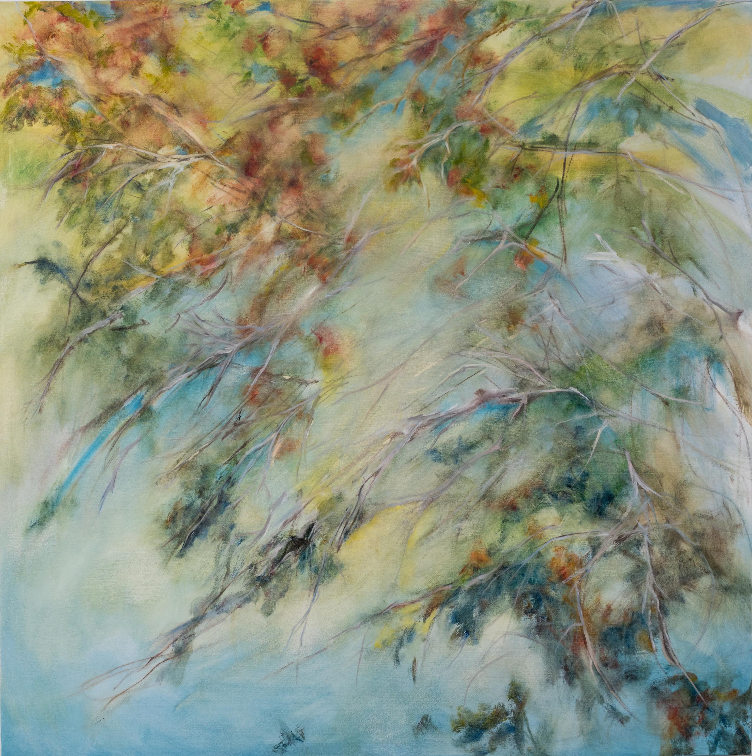 Sorella 1 , 54 x 54 inches, Oil on canvas