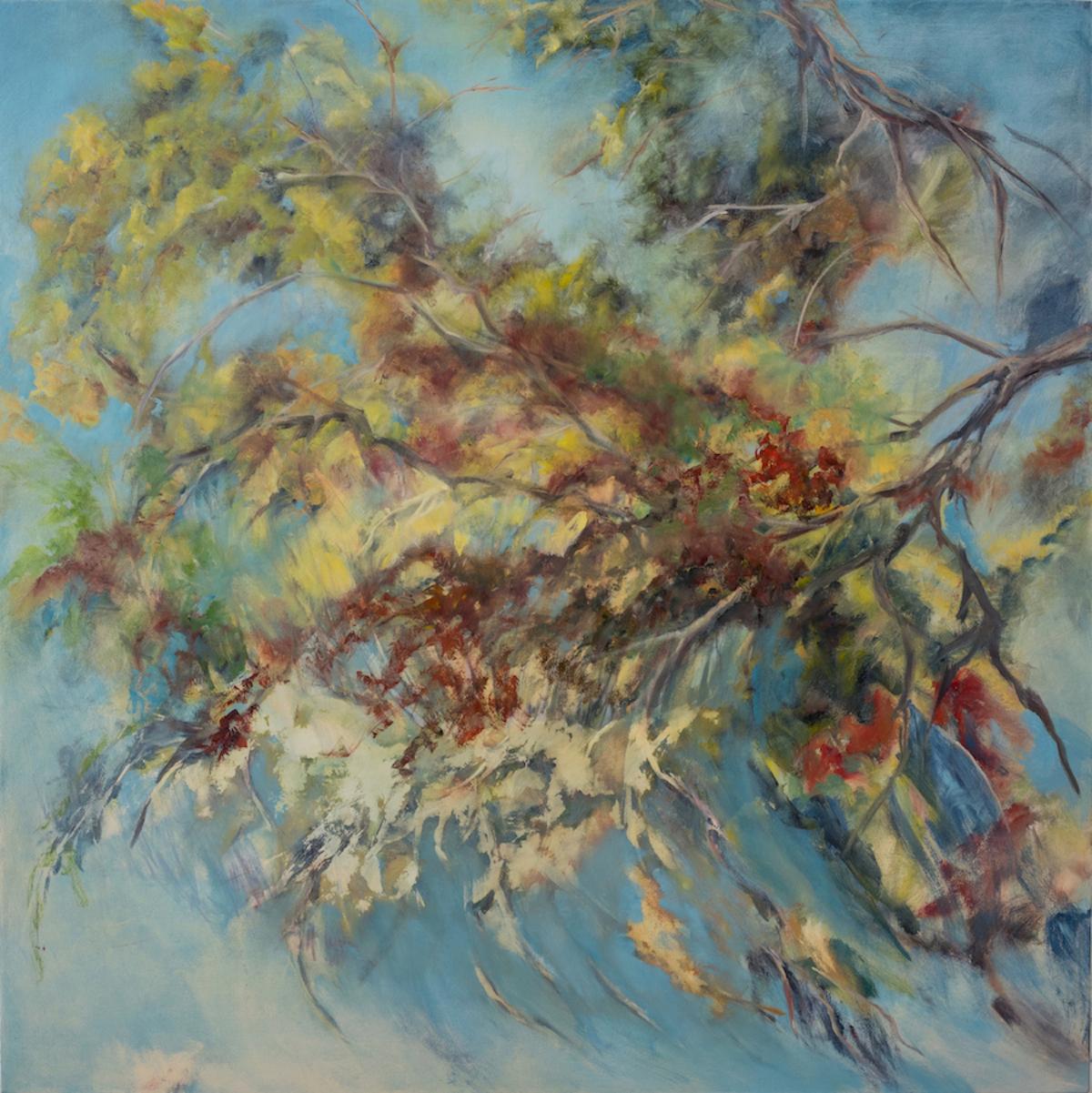 Sorella 2 , 54 x 54 inches, Oil on canvas