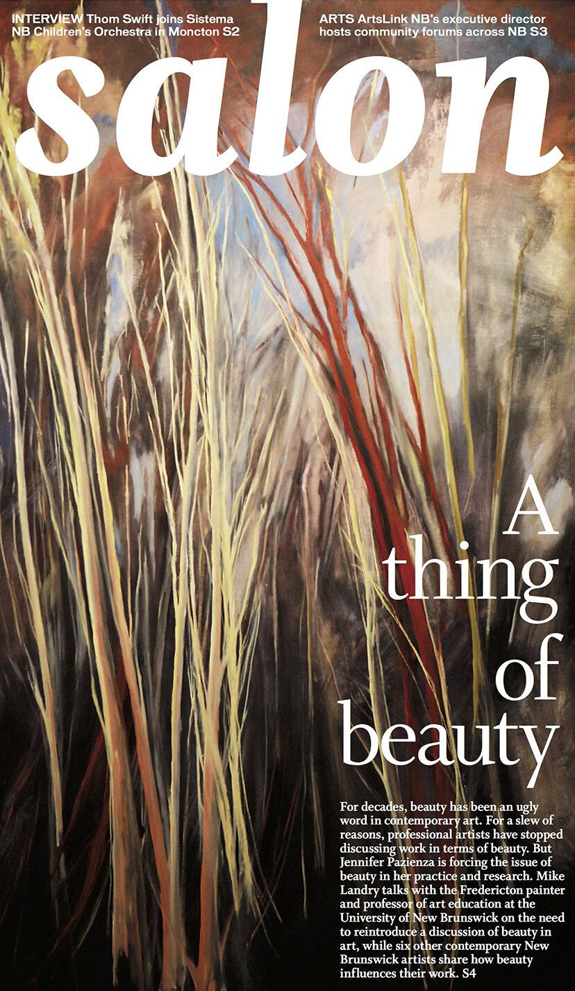 Salon ,  New Brunswick Telegraph Journal, March 31, 2012,  Download PDF