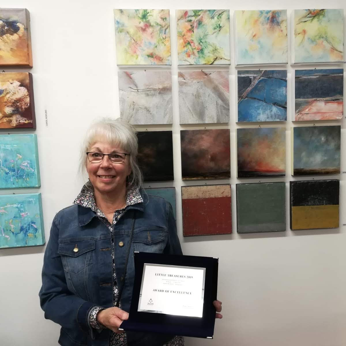 Excellence Award given to  Over the Pond Suite  , Invited Little Treasures Exhibition in Bologna, March 2019