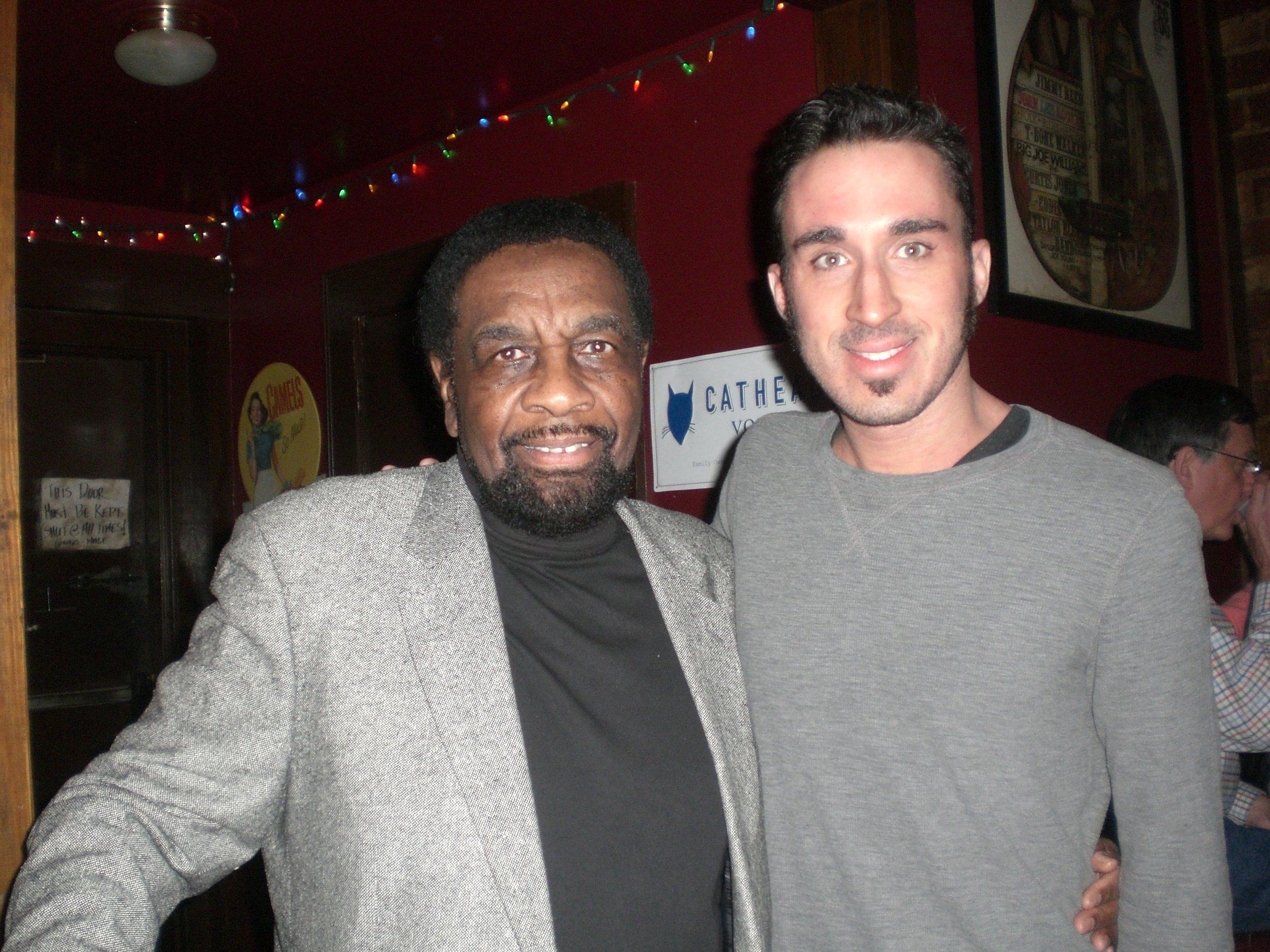 With soul legend william bell in atlanta, GA