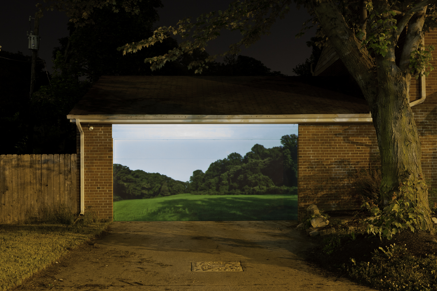 Garage Door, 2015, archival pigment print