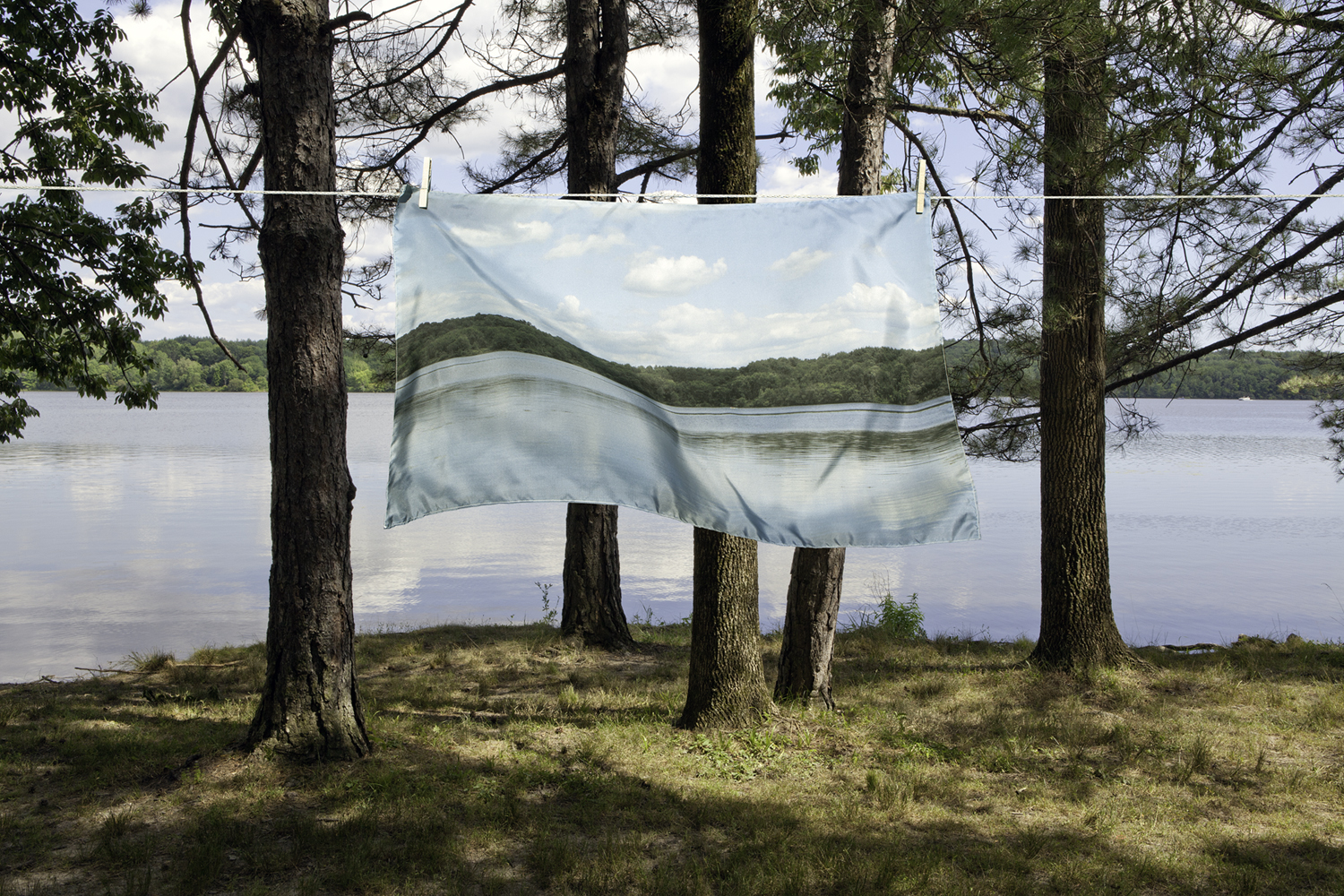 Suspended, 2012, archival pigment print on paper