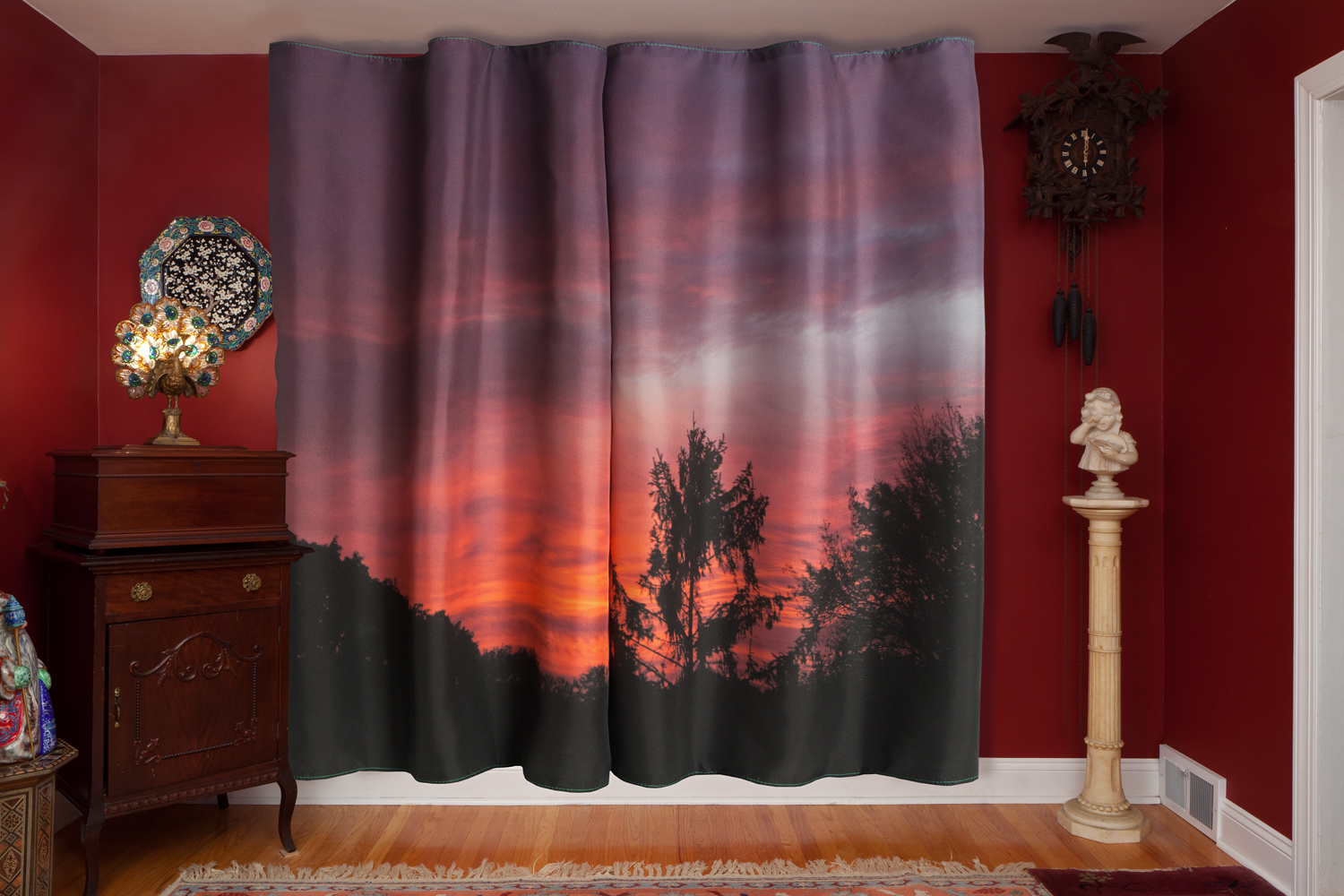 Sunset, 2012, archival pigment print on paper