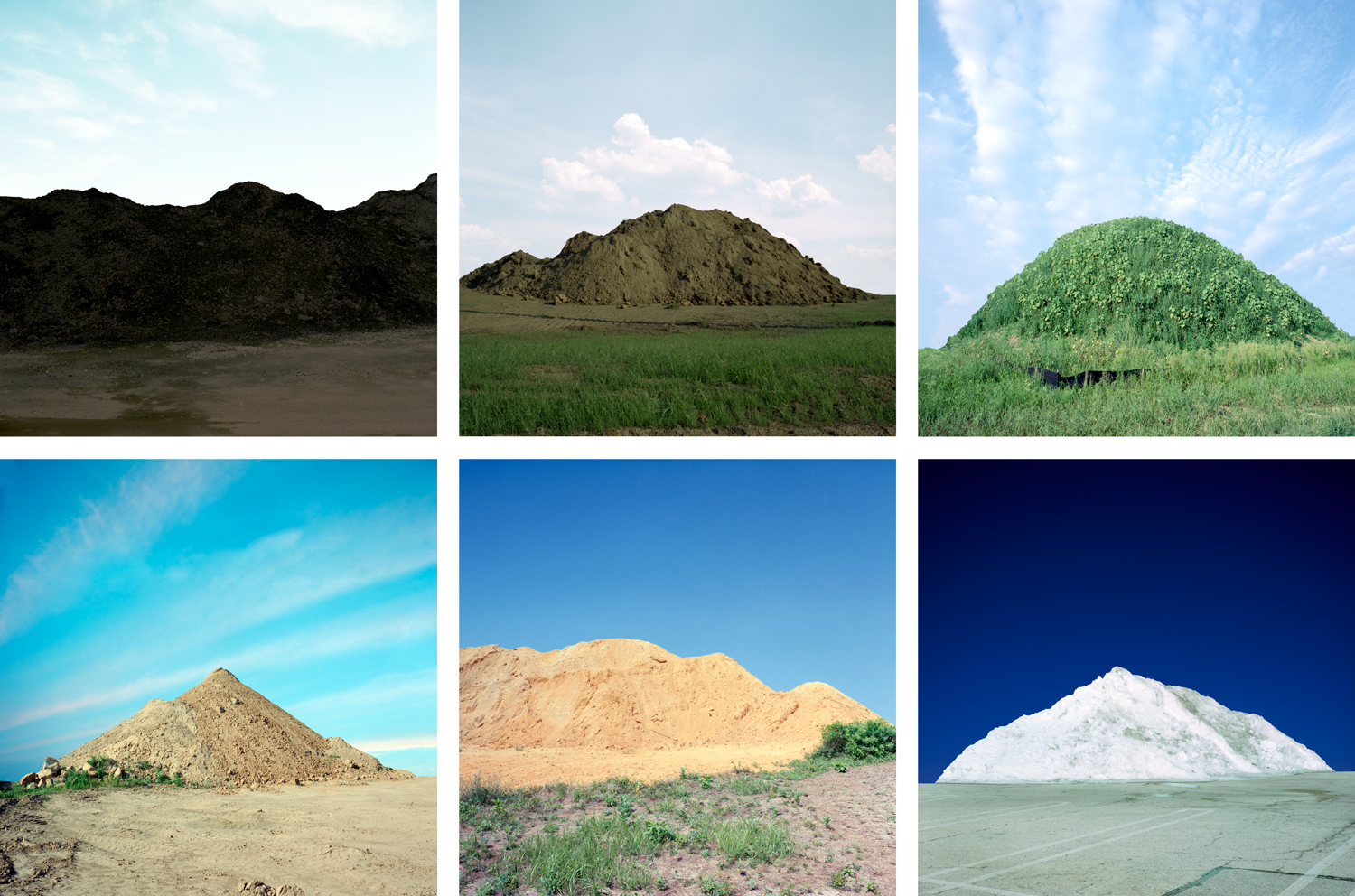 Mounds, 2010, archival pigment print on paper