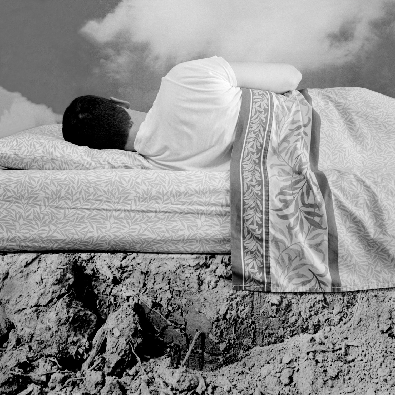 Bed, 2005, archival pigment print on paper