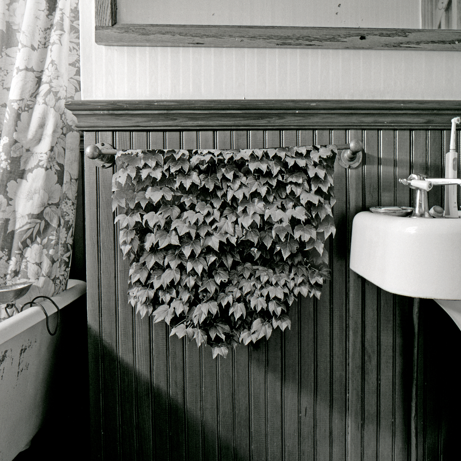 Bathroom, 2006, archival pigment print on paper