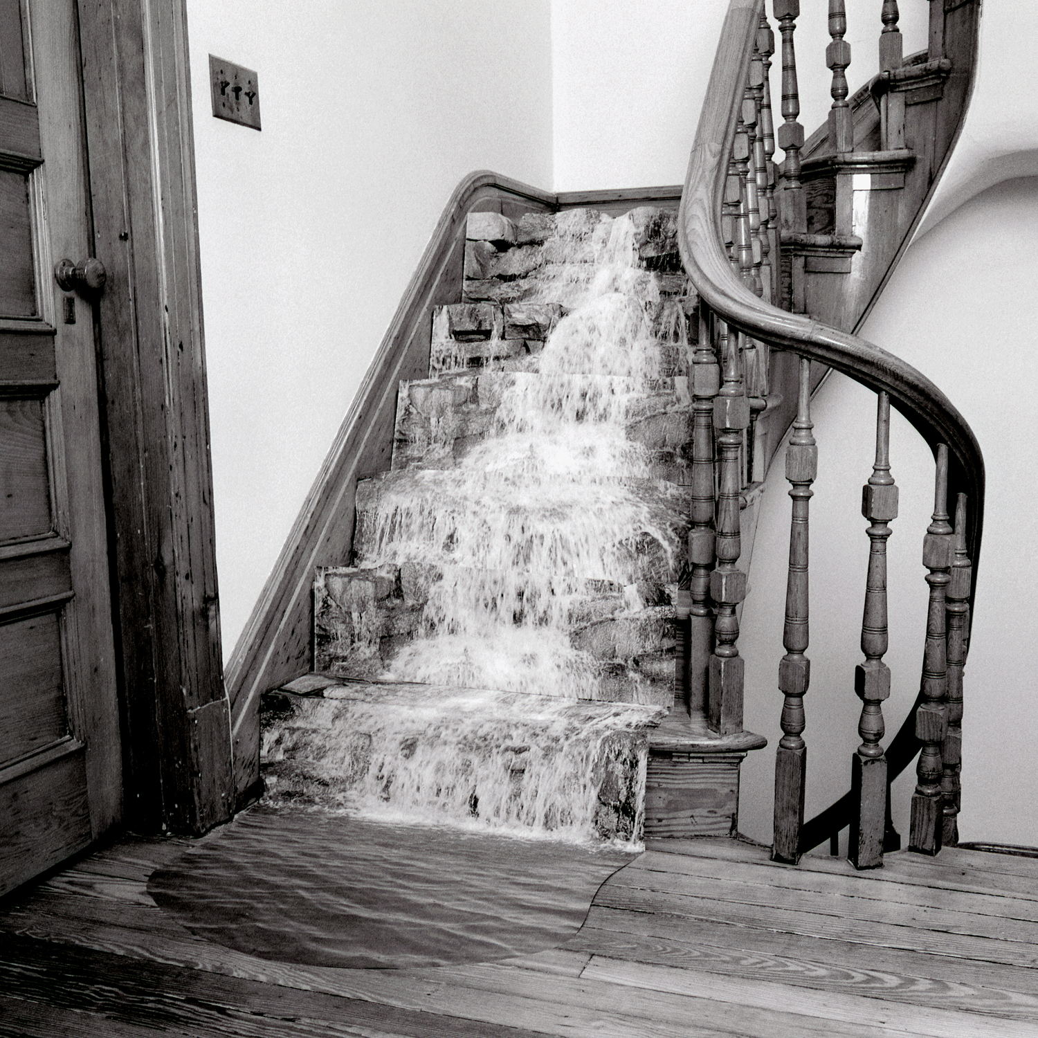 Stairwell, 2006, archival pigment print on paper