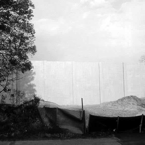 Barriers from the Suburbia Series, 1993, archival pigment print on paper