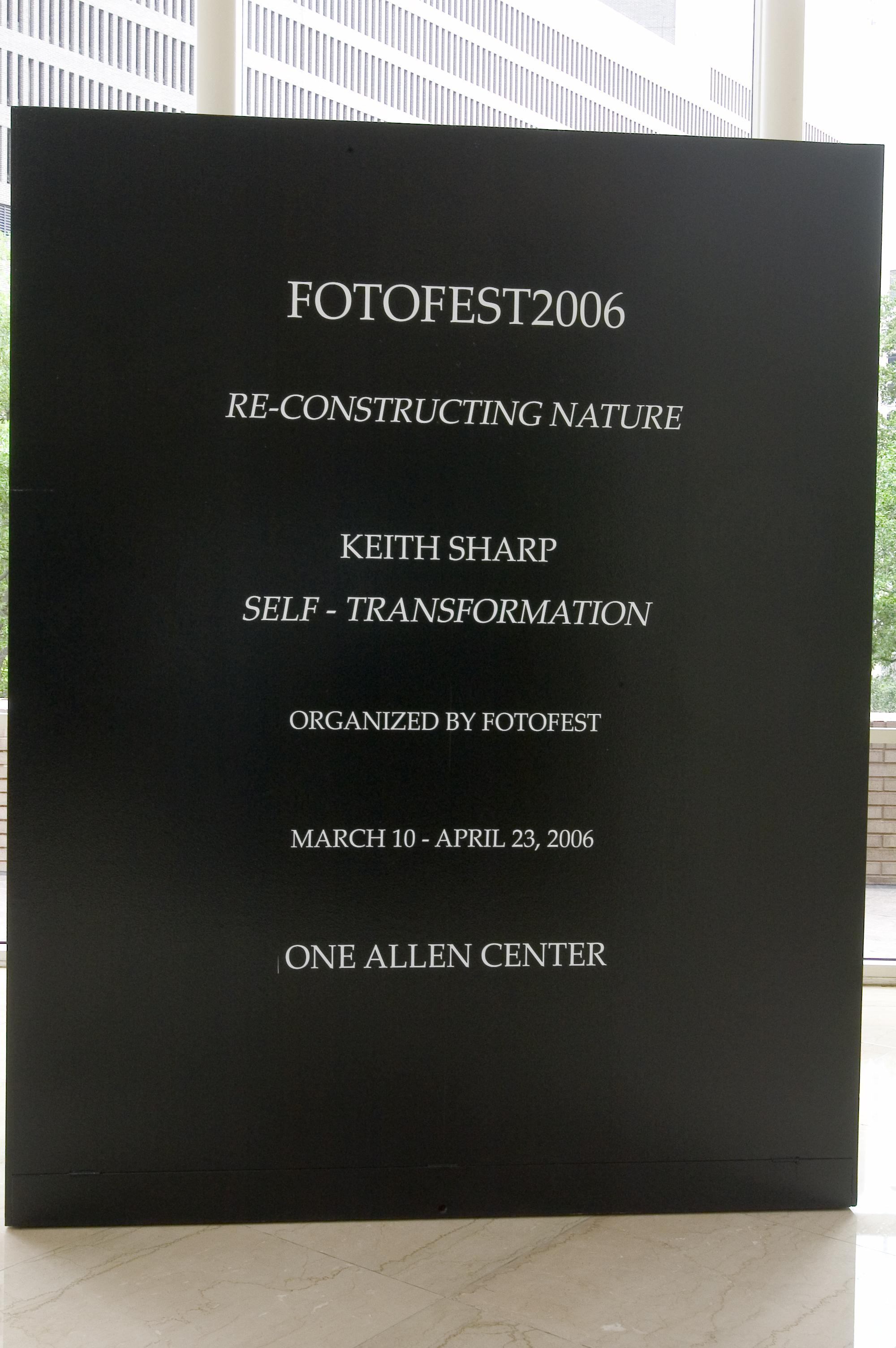 Keith Sharp FotoFest, Houton, TX