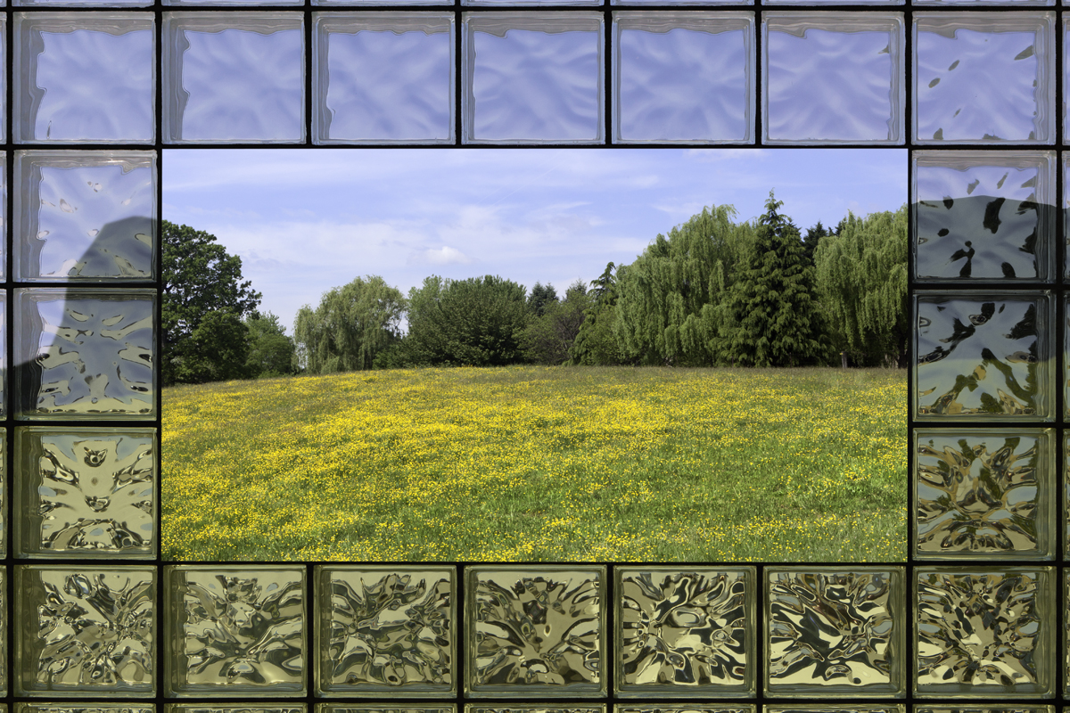 Glass Block Window, 2017, archival pigment print
