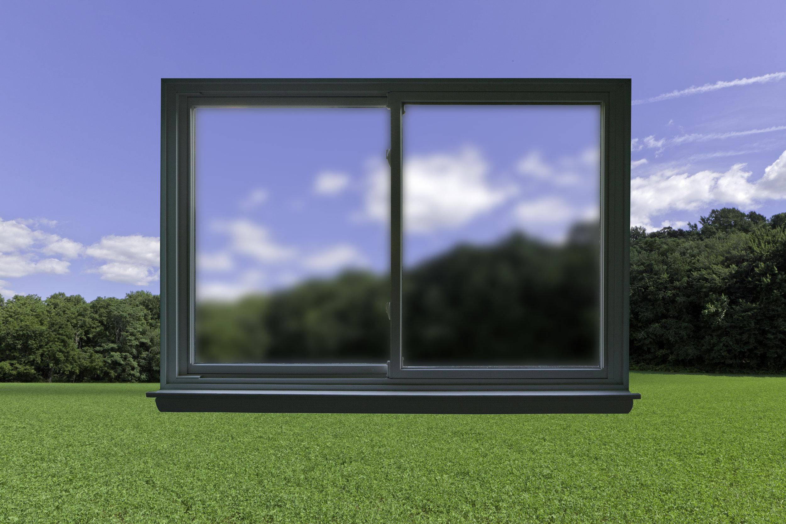 Windows As Eyes, 2018, archival pigment print