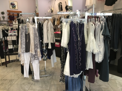 Drop by to take a look at some of our clothes. These are just a few examples, we have clothing for EVERY occasion & season! See you soon!