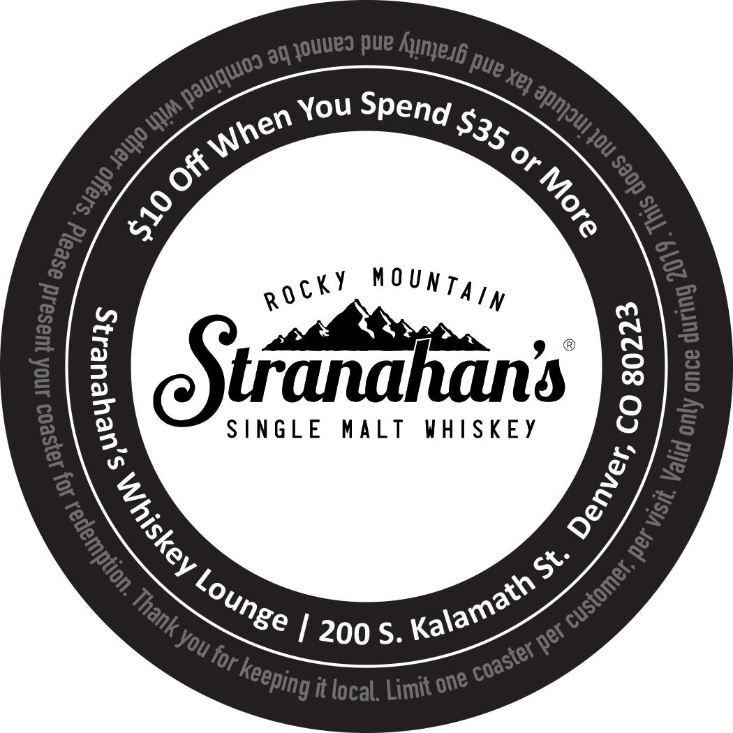 Stranahan's Whiskey Lounge