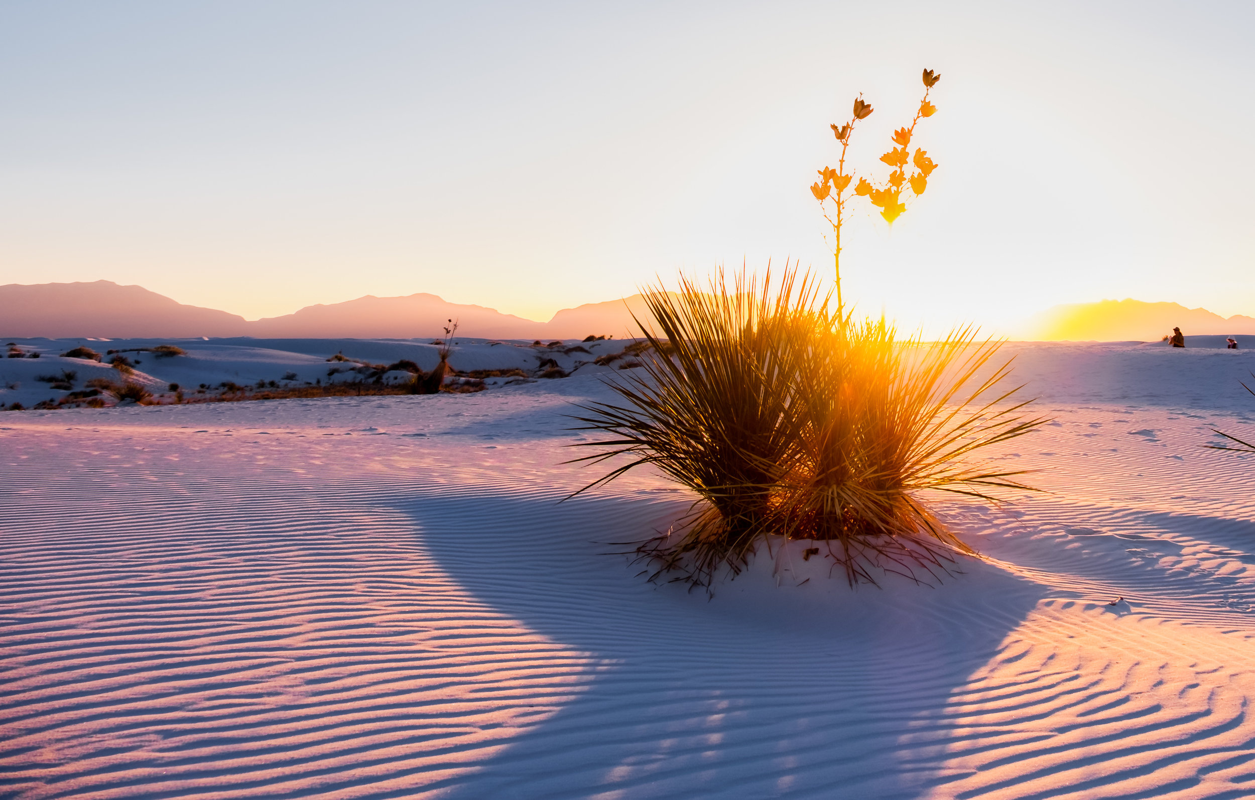 White Sands National Monument in New Mexico