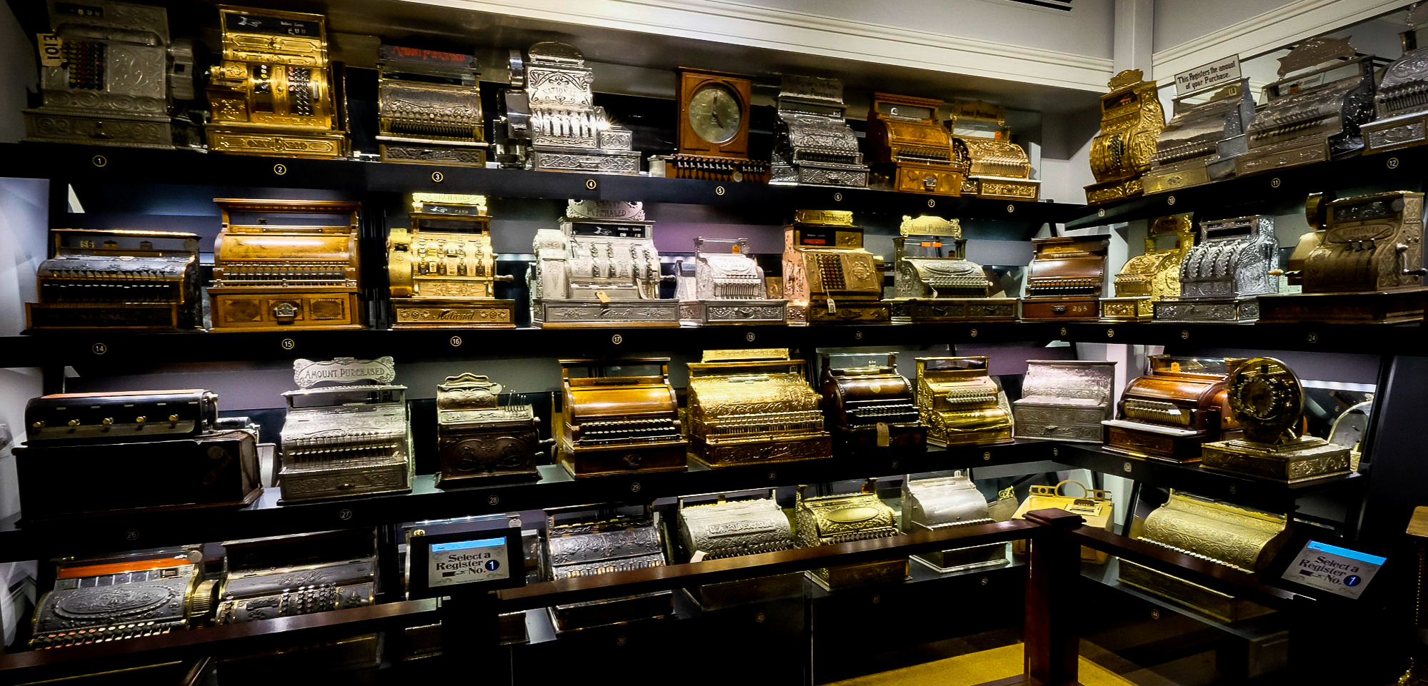 I mean who hasn't been to a cash register museum?