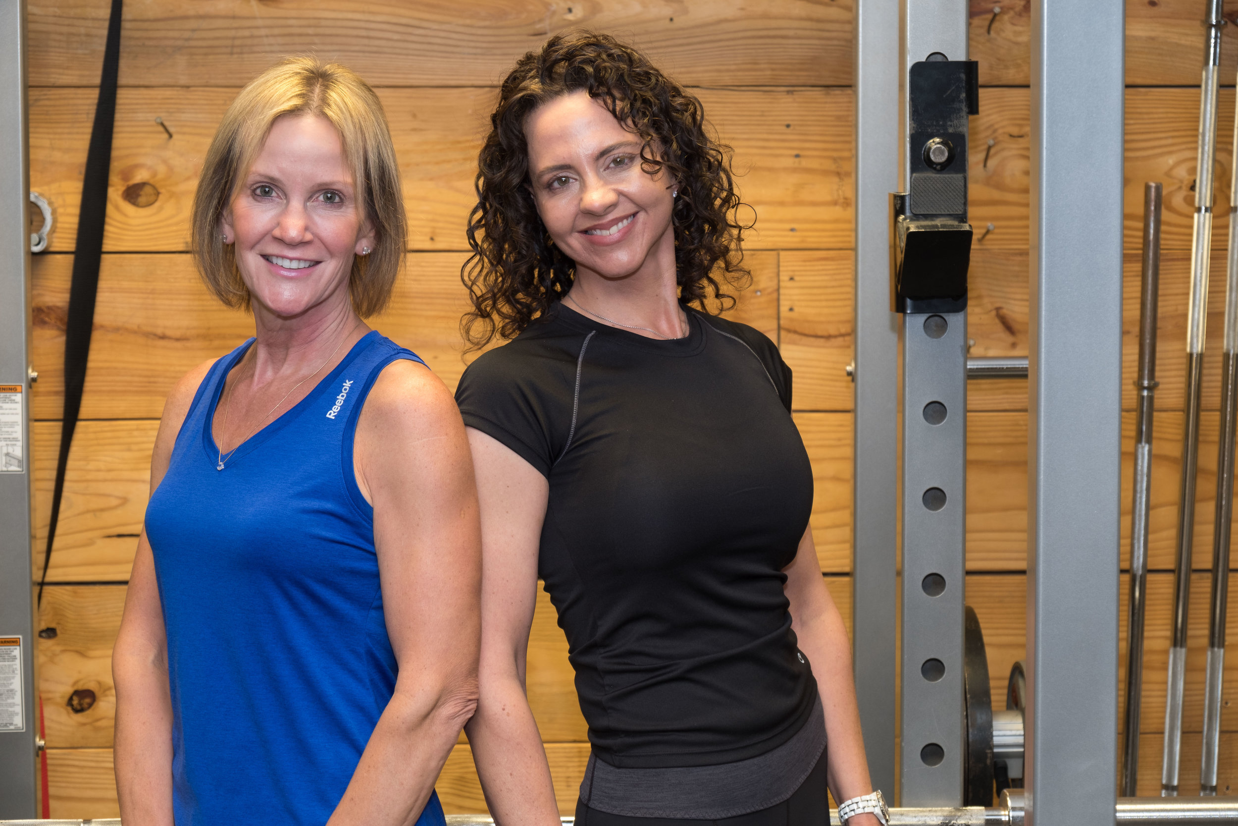 Lea and Myra are two of the exceptional, professional trainers at North Raleigh Fitness