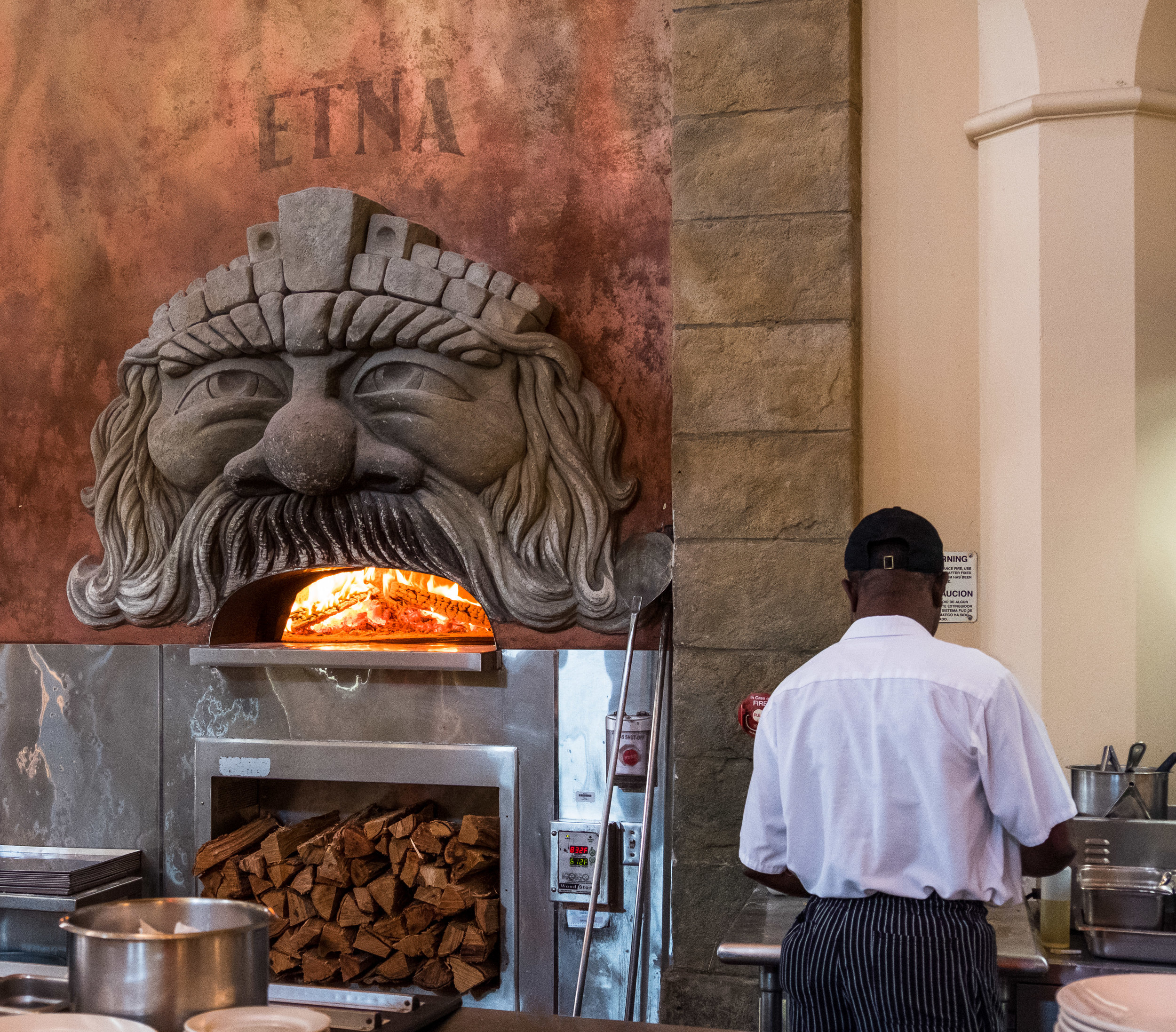 Hard not to like a place that features ovens like this!