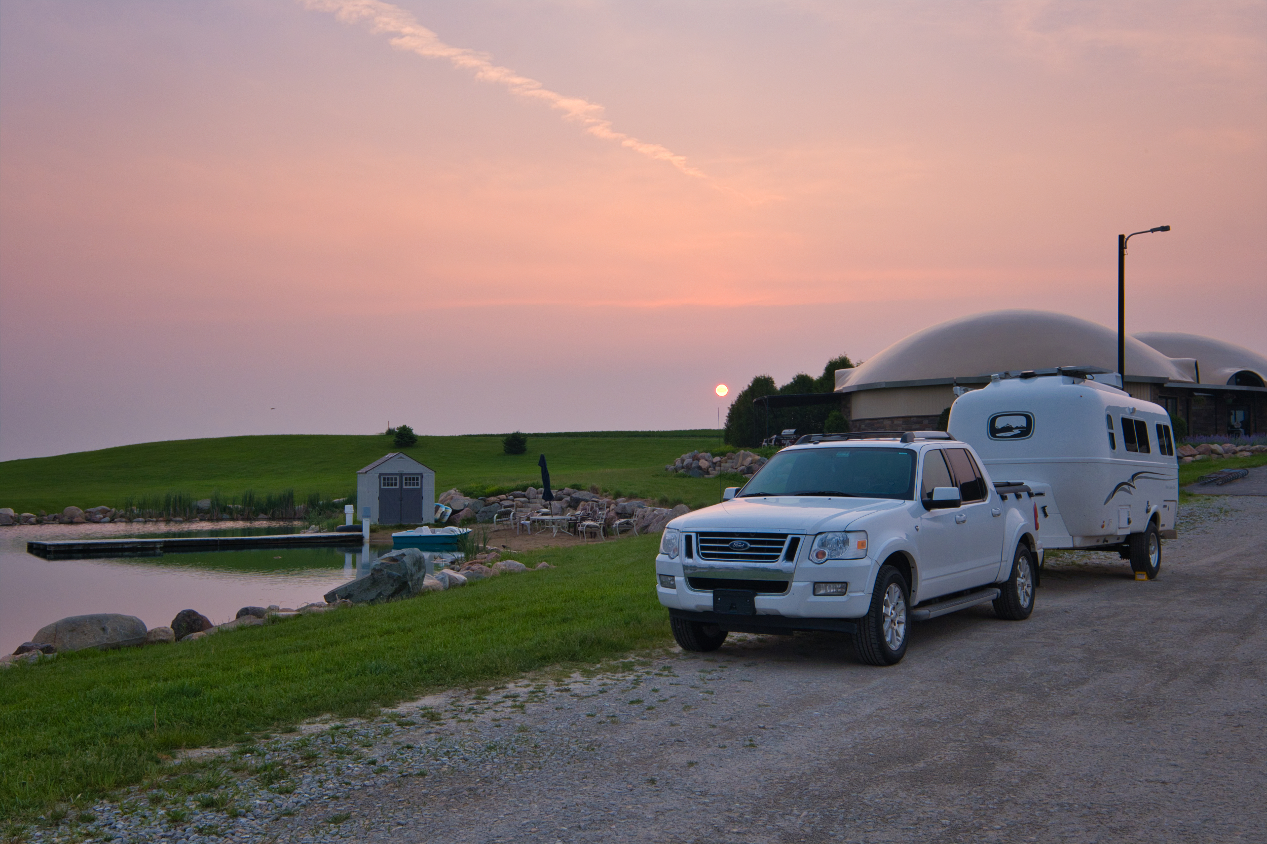 Farm Camping is the place to be, farm living is the life for me…