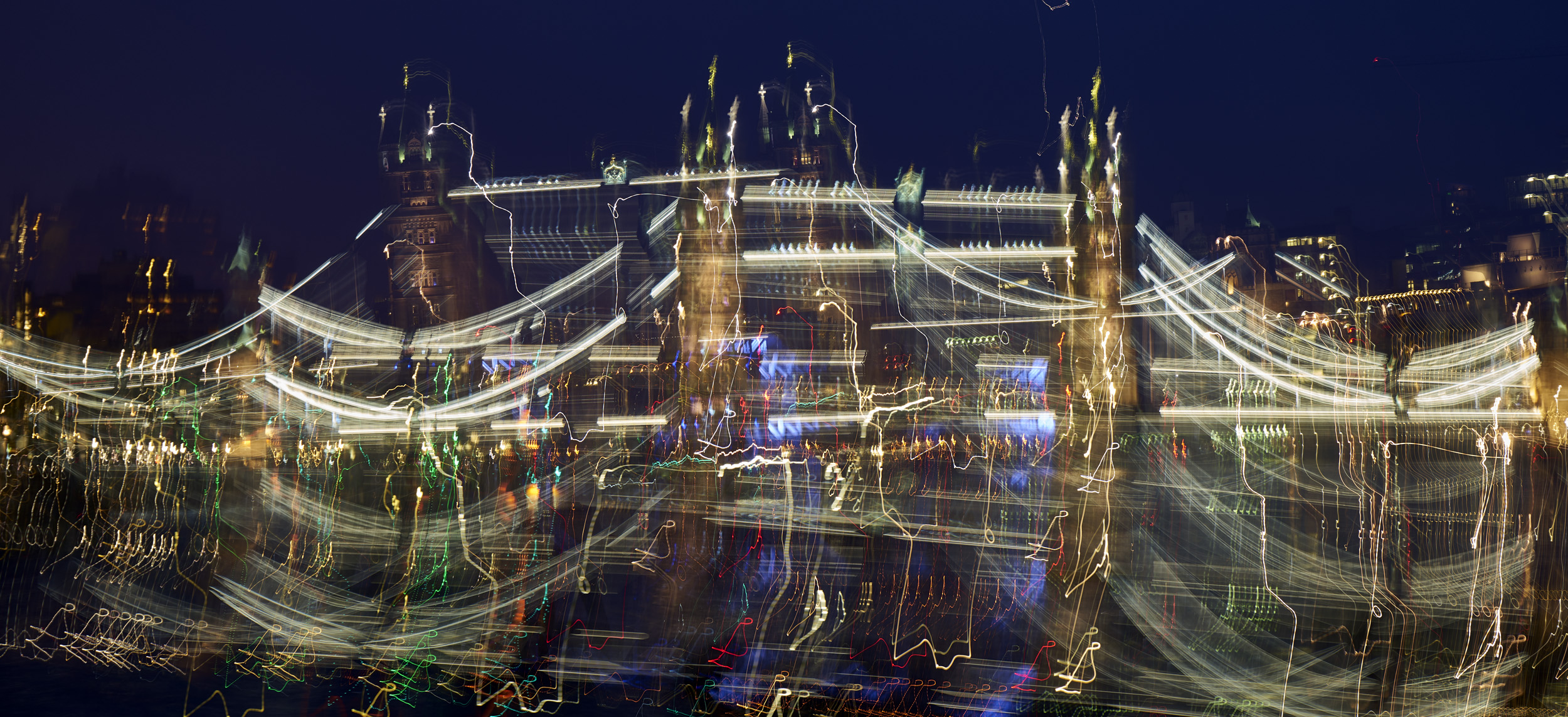 The Tower Bridge has been drinking