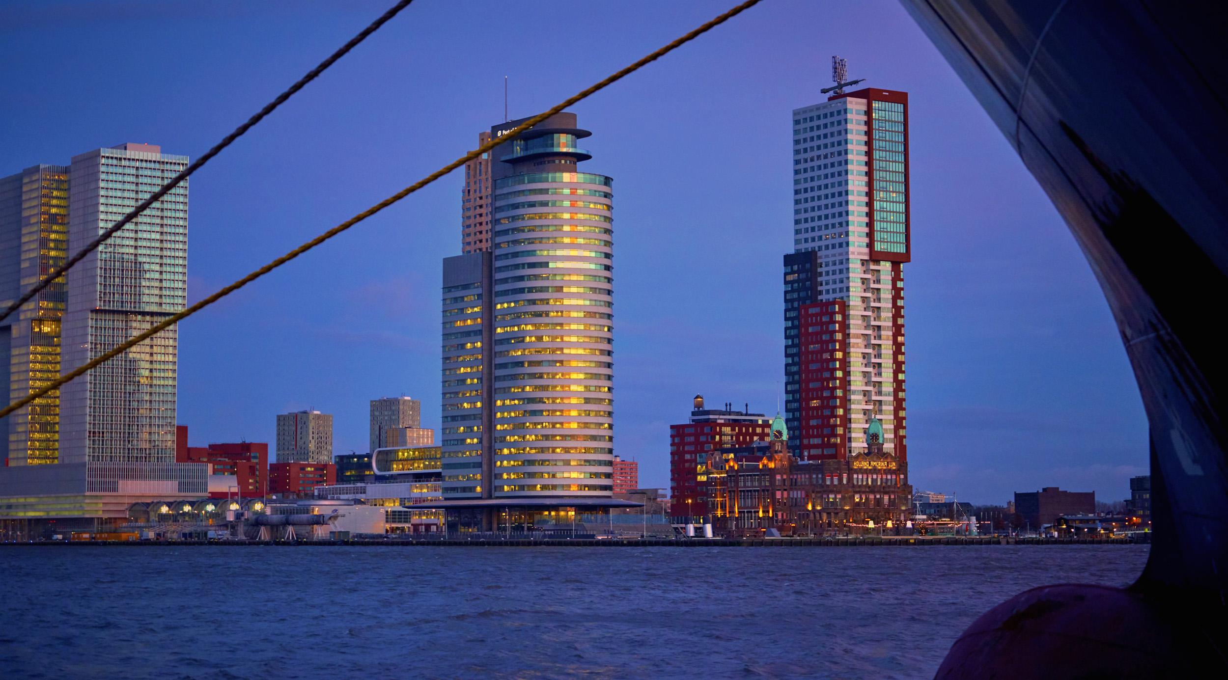 Rotterdam City Scape